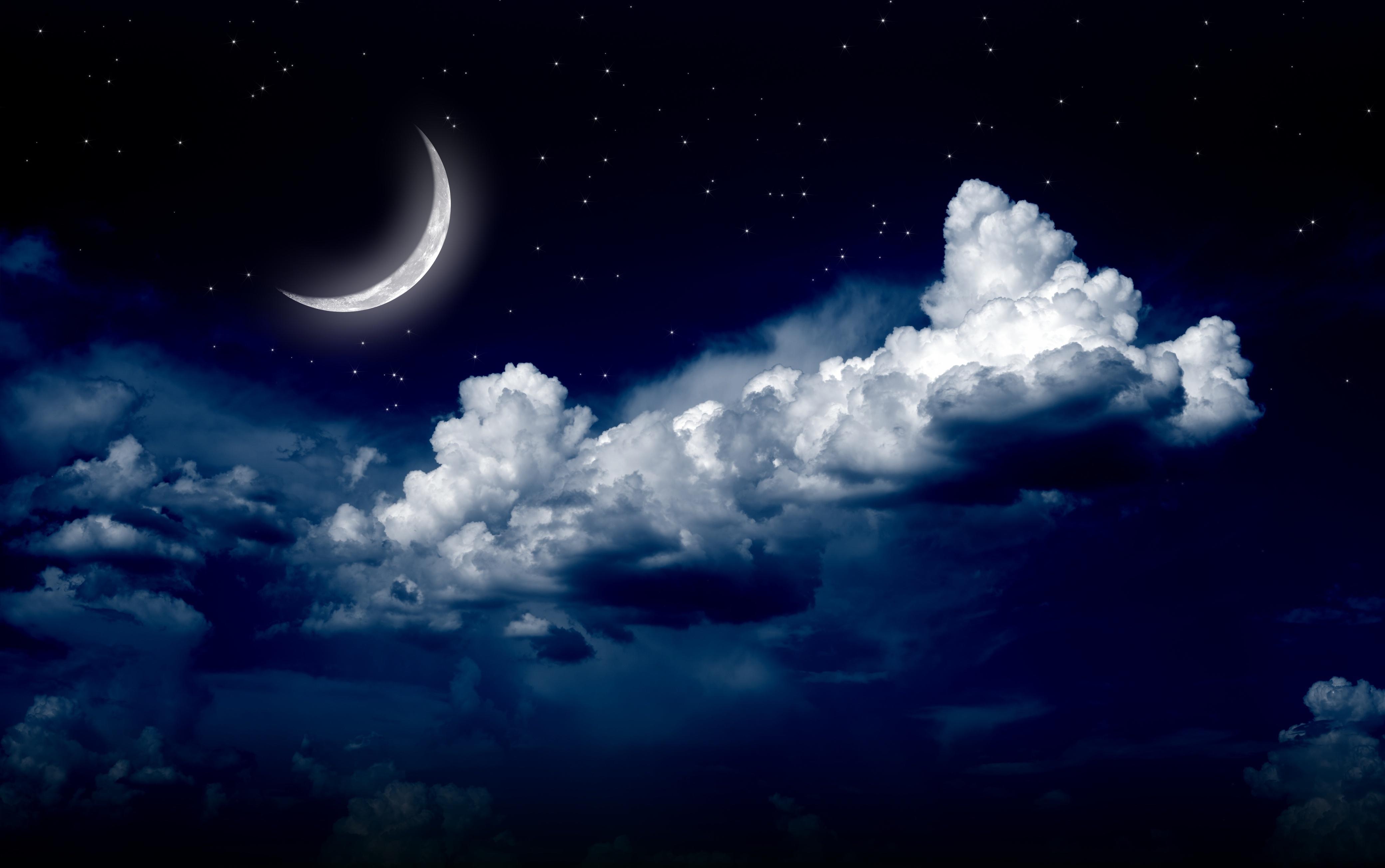 Night Sky Moon Photos