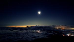 Night Sky Moon Wallpapers Hd