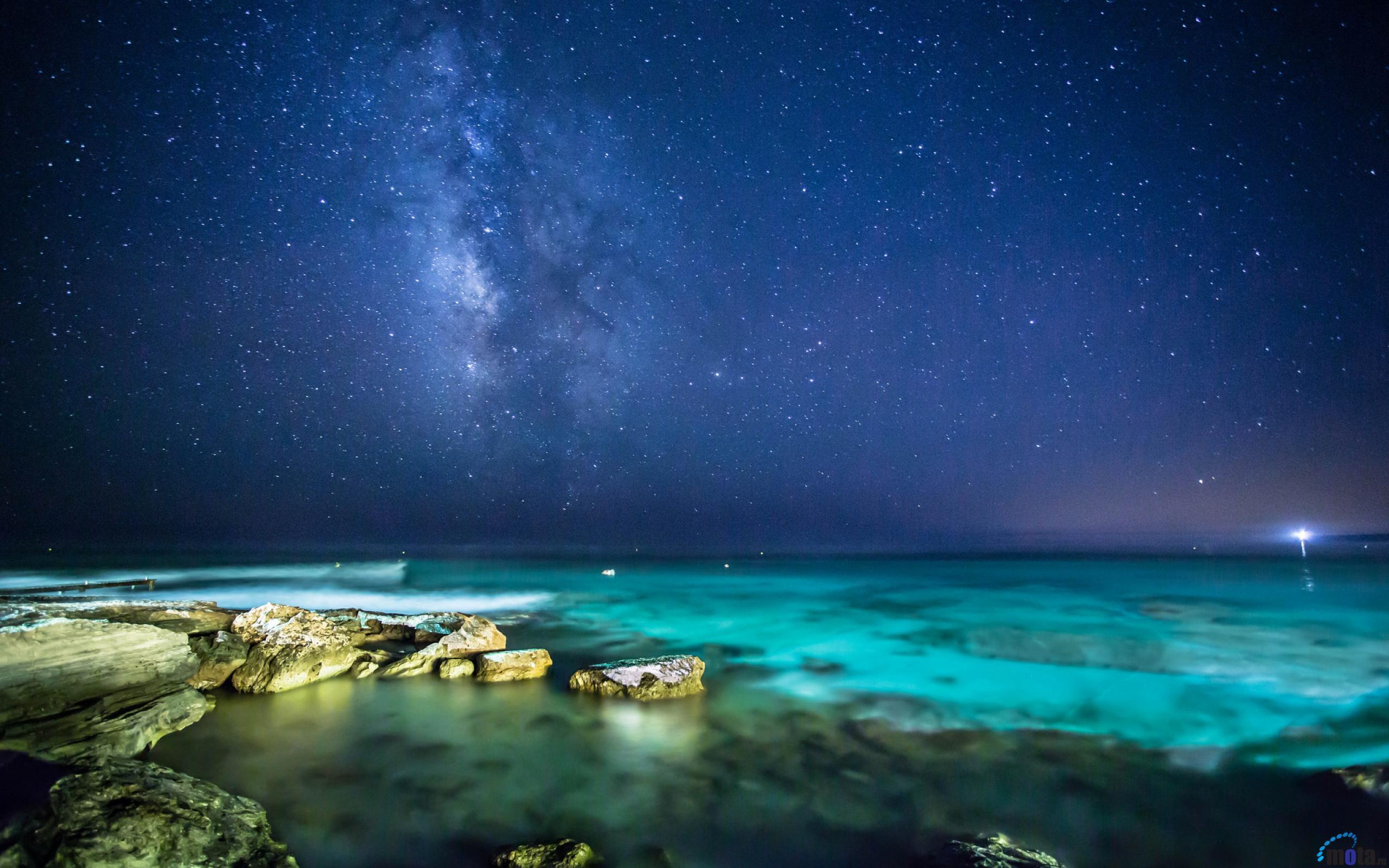 Night Sky Stars Desktop