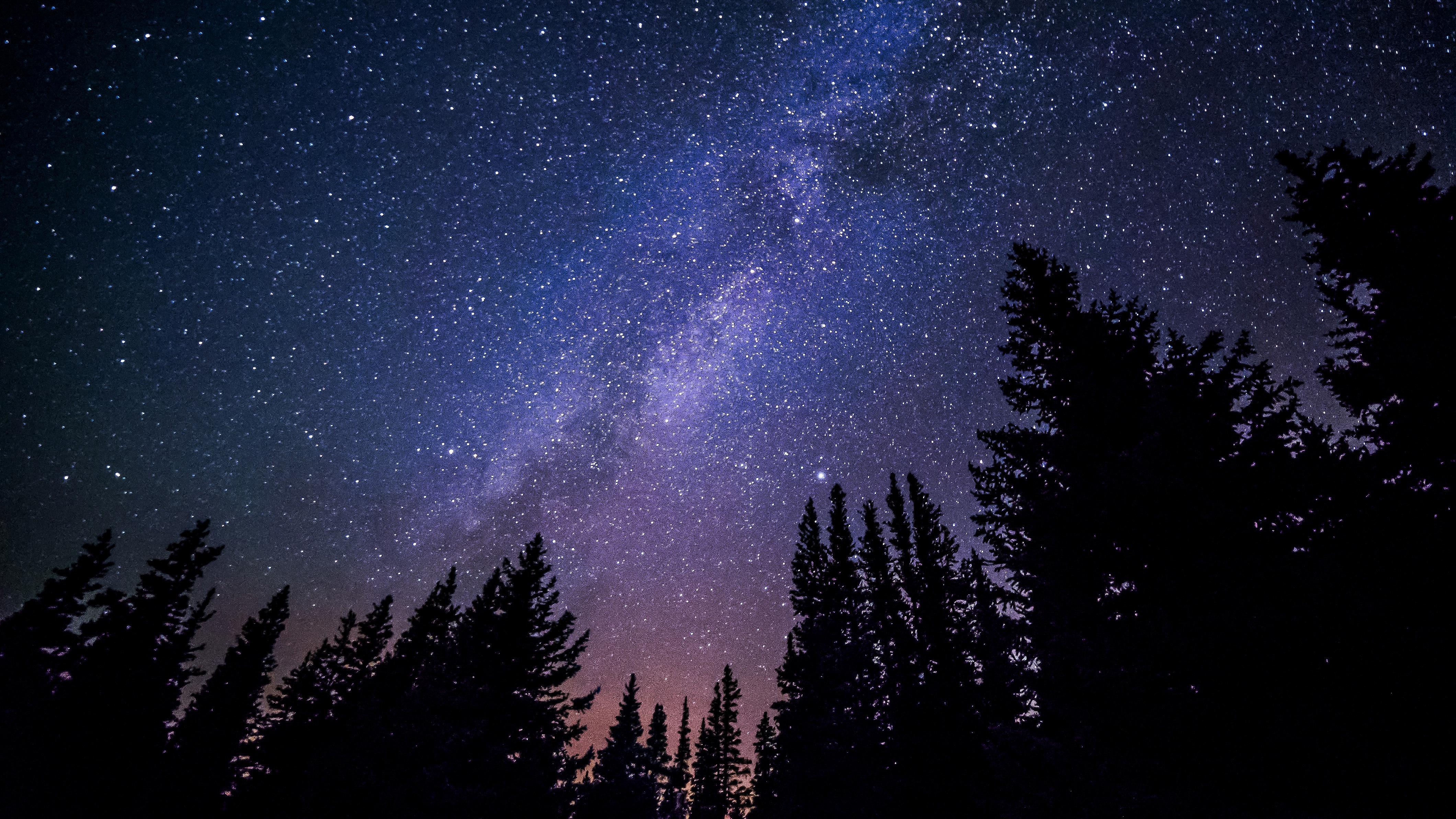 Night Sky Stars Hd Background