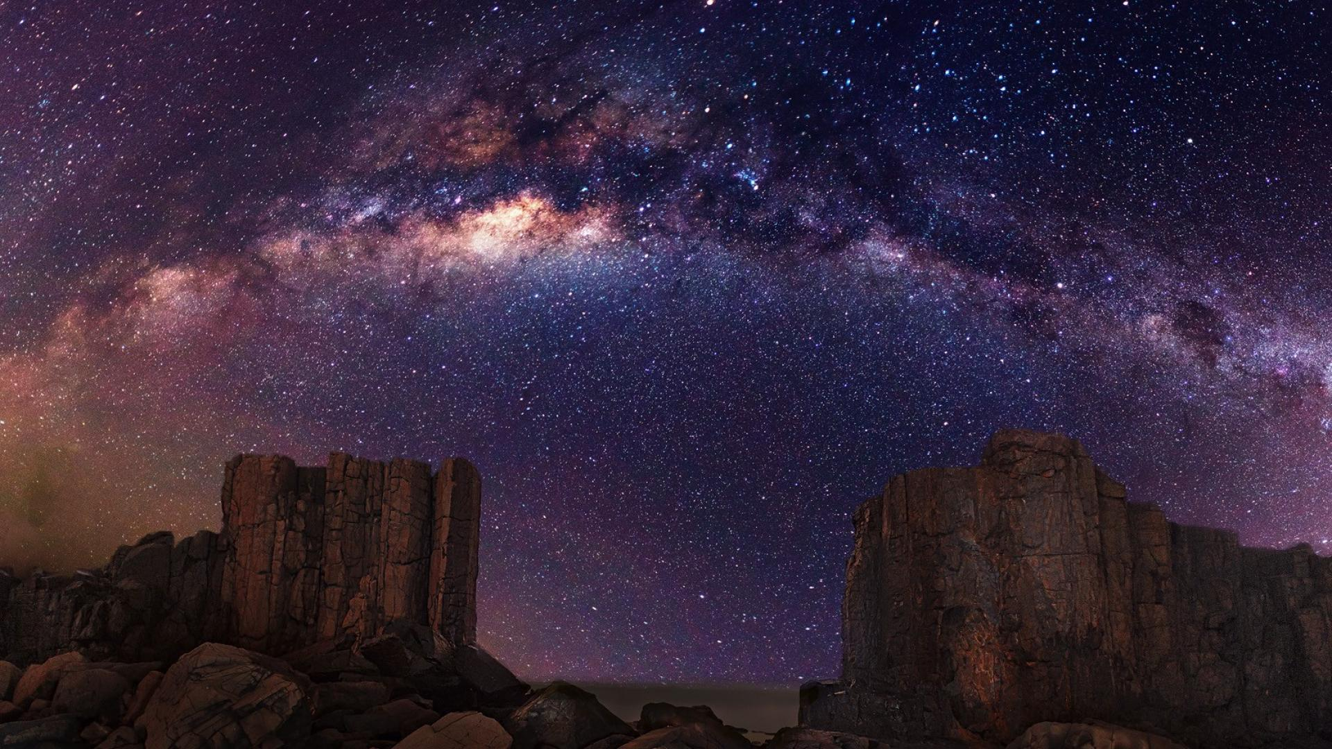 Night Sky Stars High Definition Wallpapers