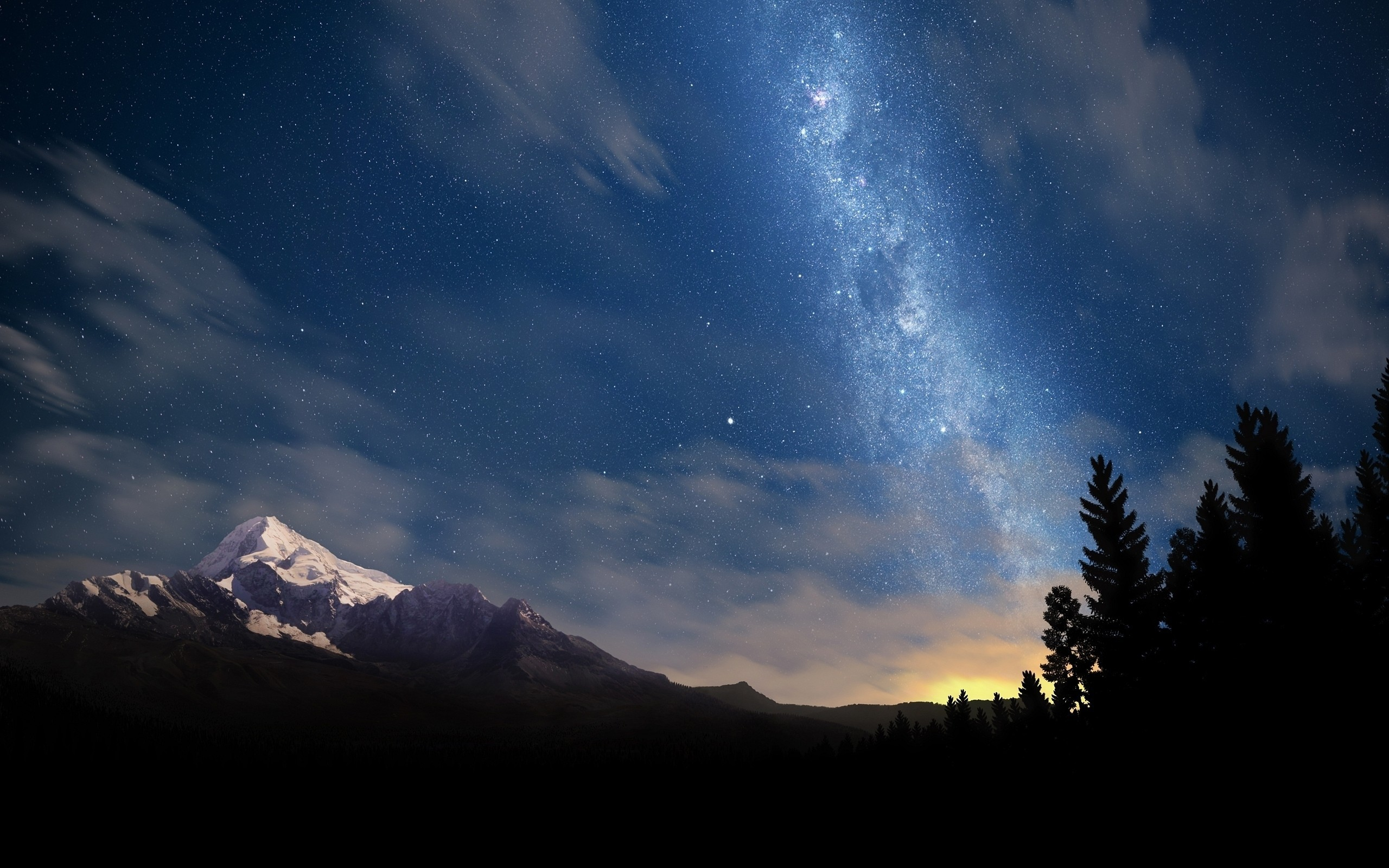 Night Sky Stars High Quality Wallpapers