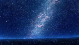 Night Sky Stars Widescreen