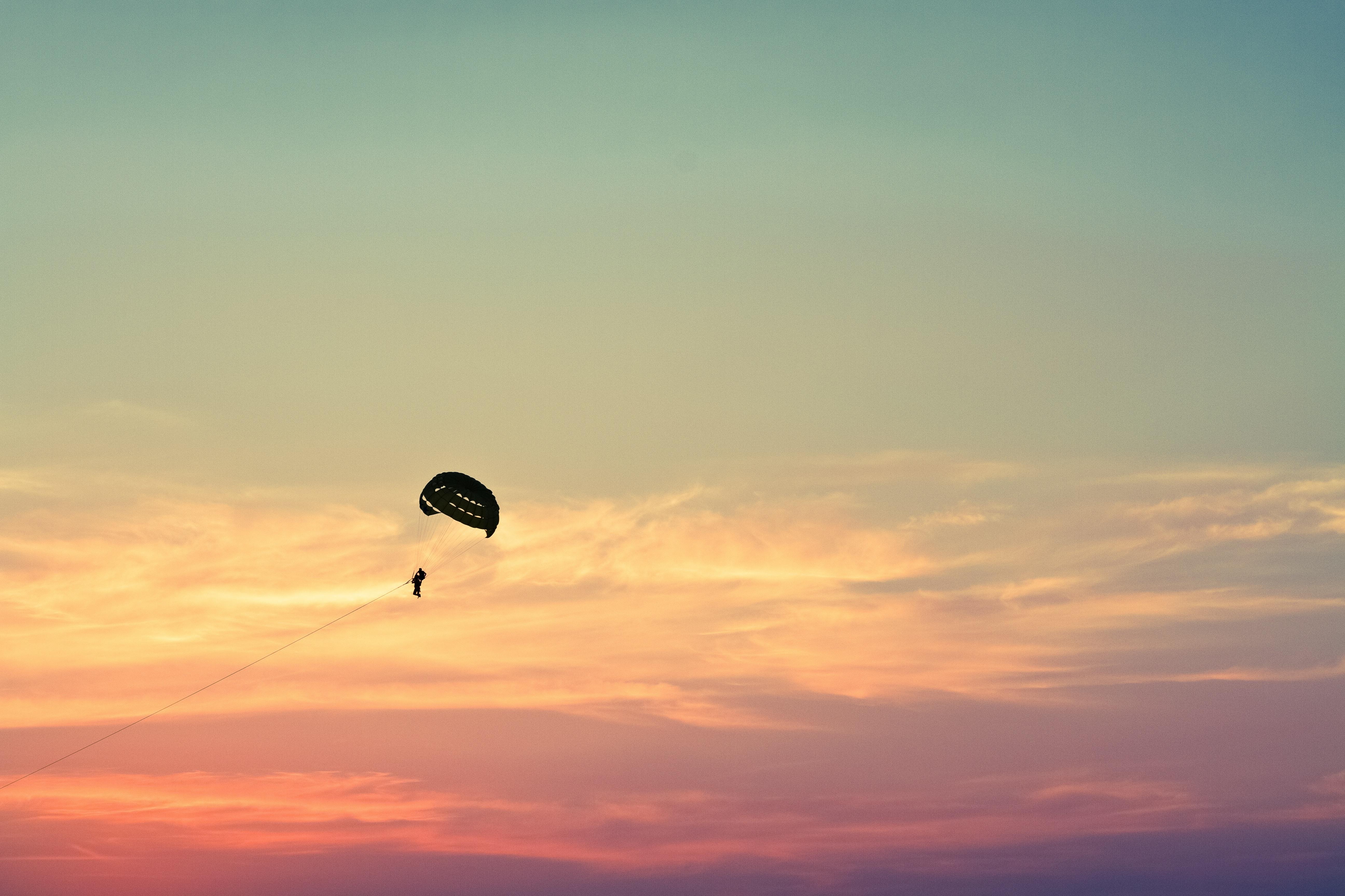 Paragliding Background