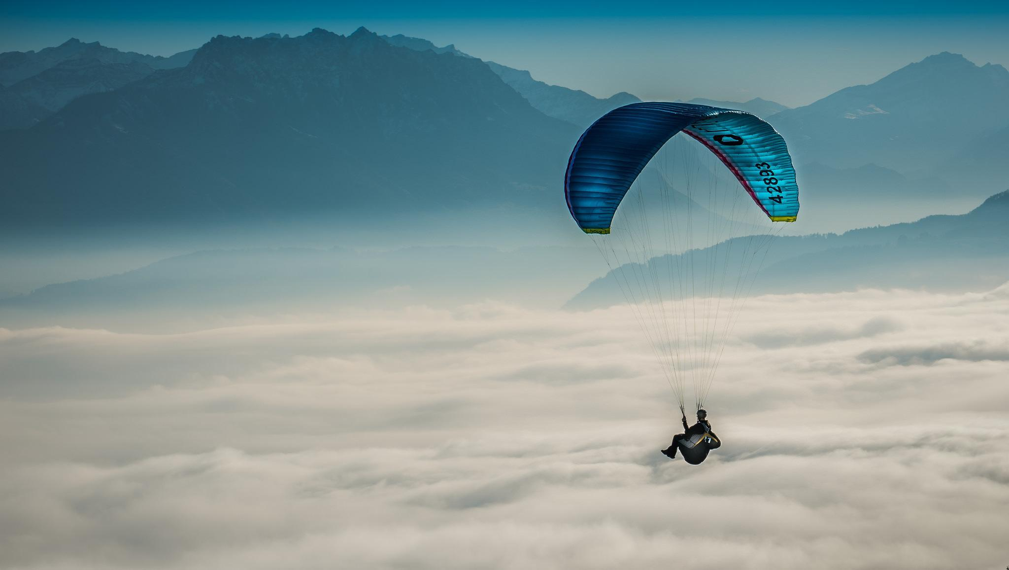 Paragliding High Quality Wallpapers