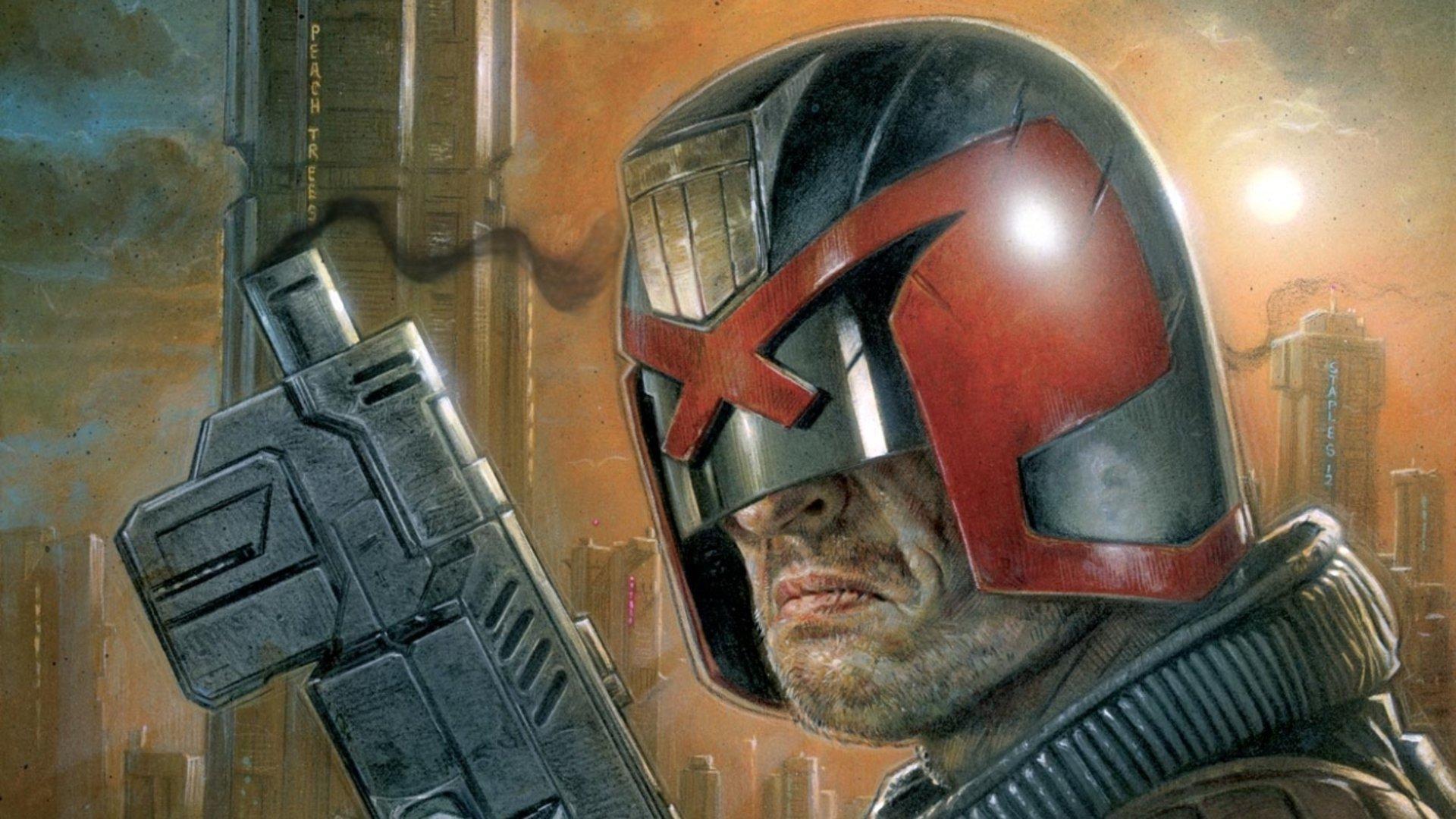 Pictures Of Judge Dredd