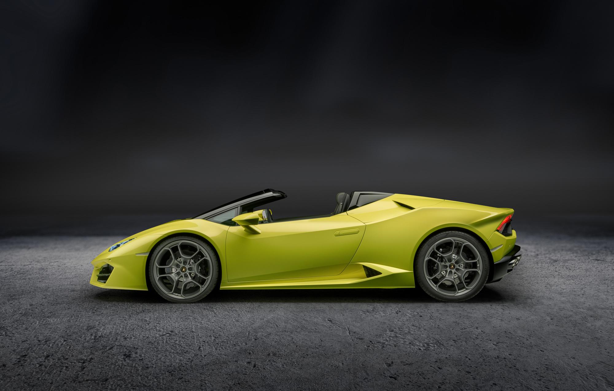 Pictures Of Lamborghini Huracan Rwd Spyder
