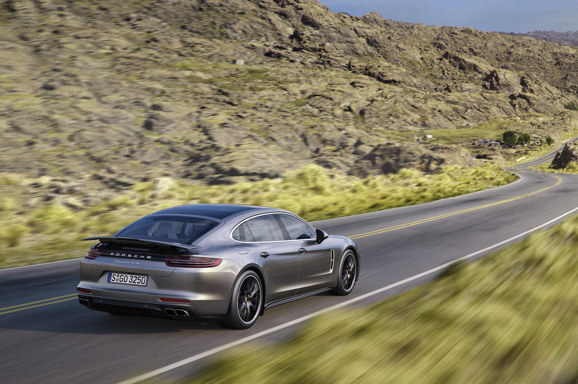 Pictures Of Porsche Panamera Executive