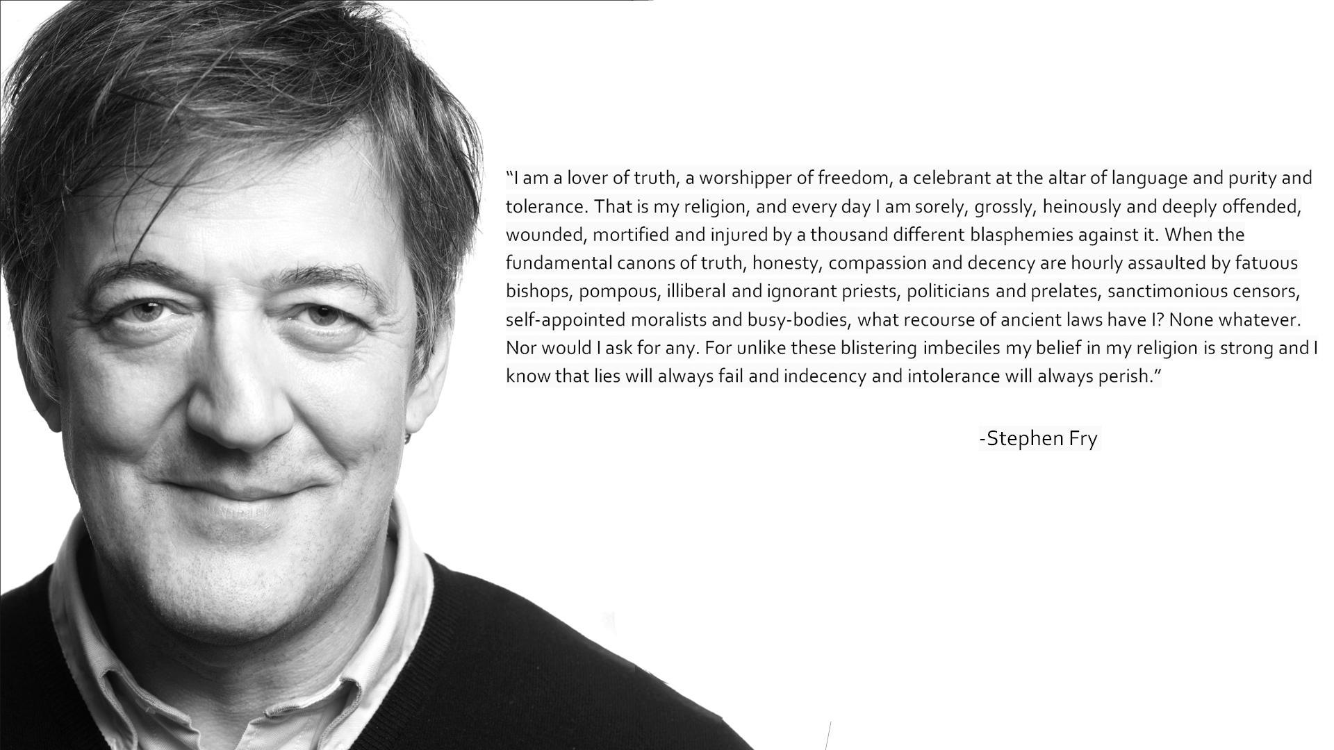 Pictures Of Stephen Fry