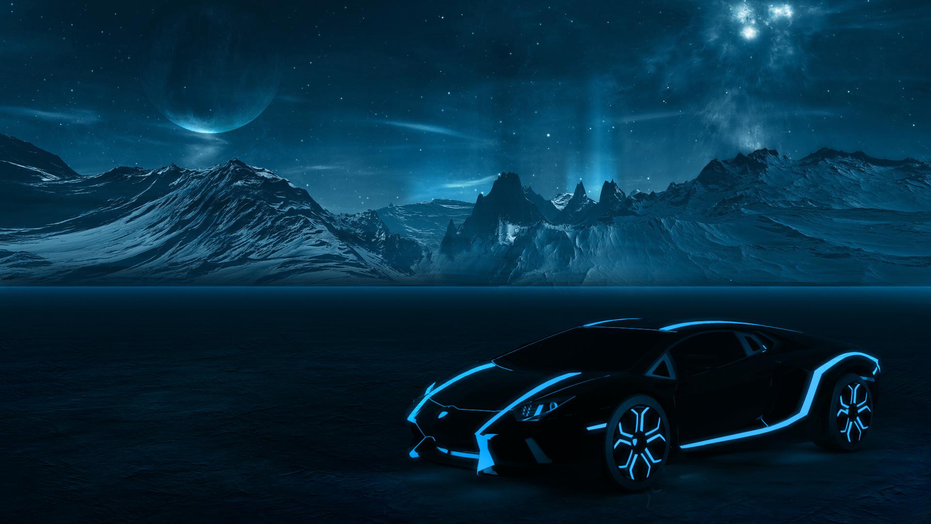 Pictures Of Tron Lamborghini Aventador