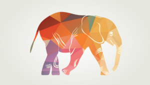Polygon Elephant Images