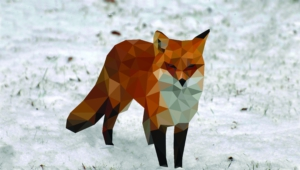 Polygon Fox Wallpapers