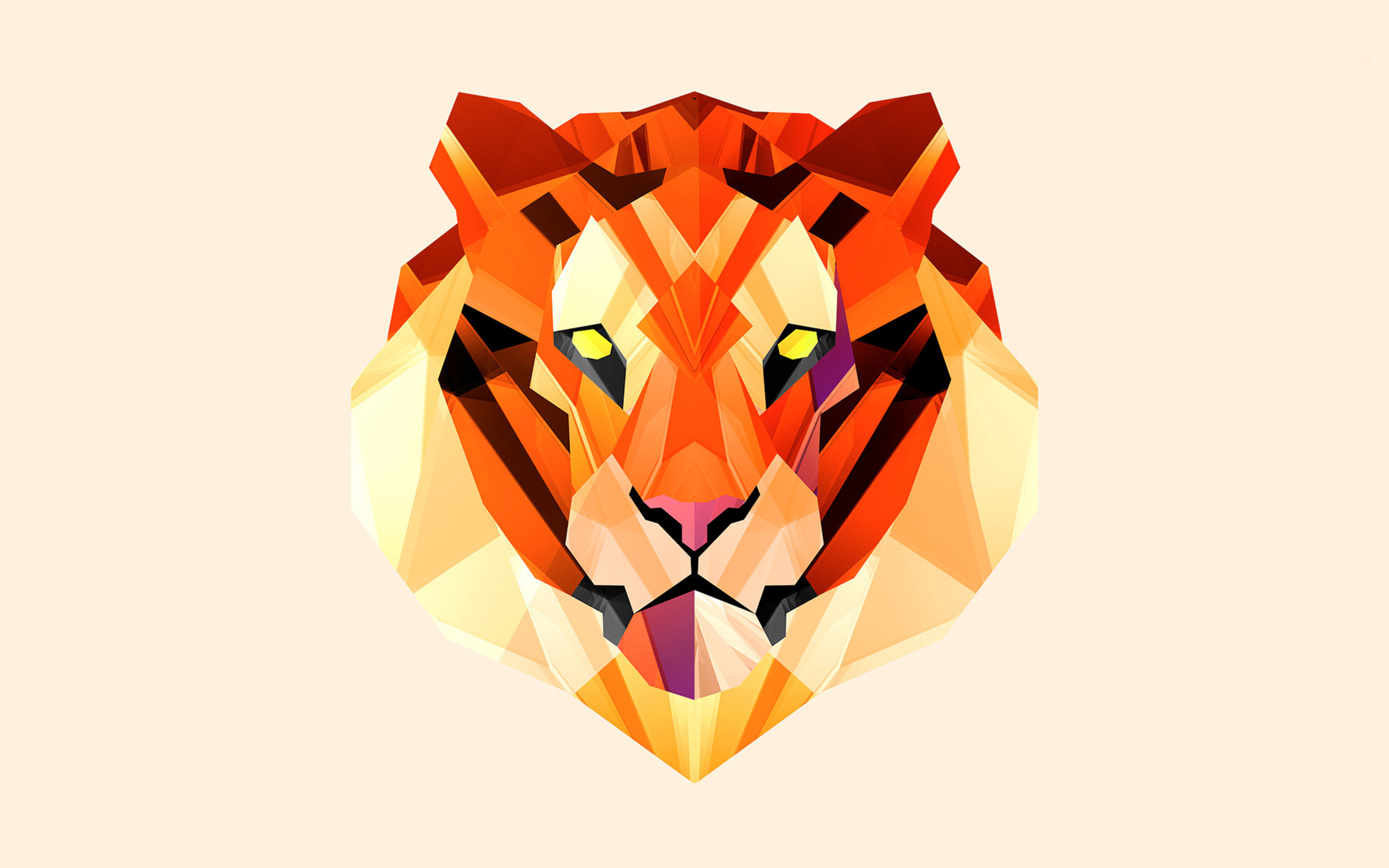 Polygon Tiger Images