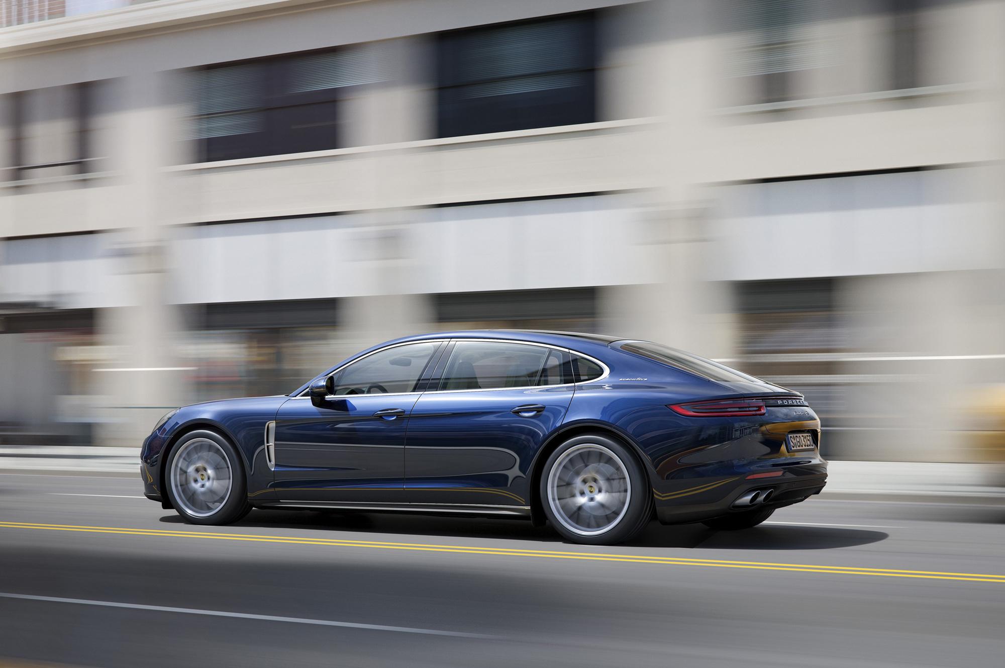 Porsche Panamera Executive Photos