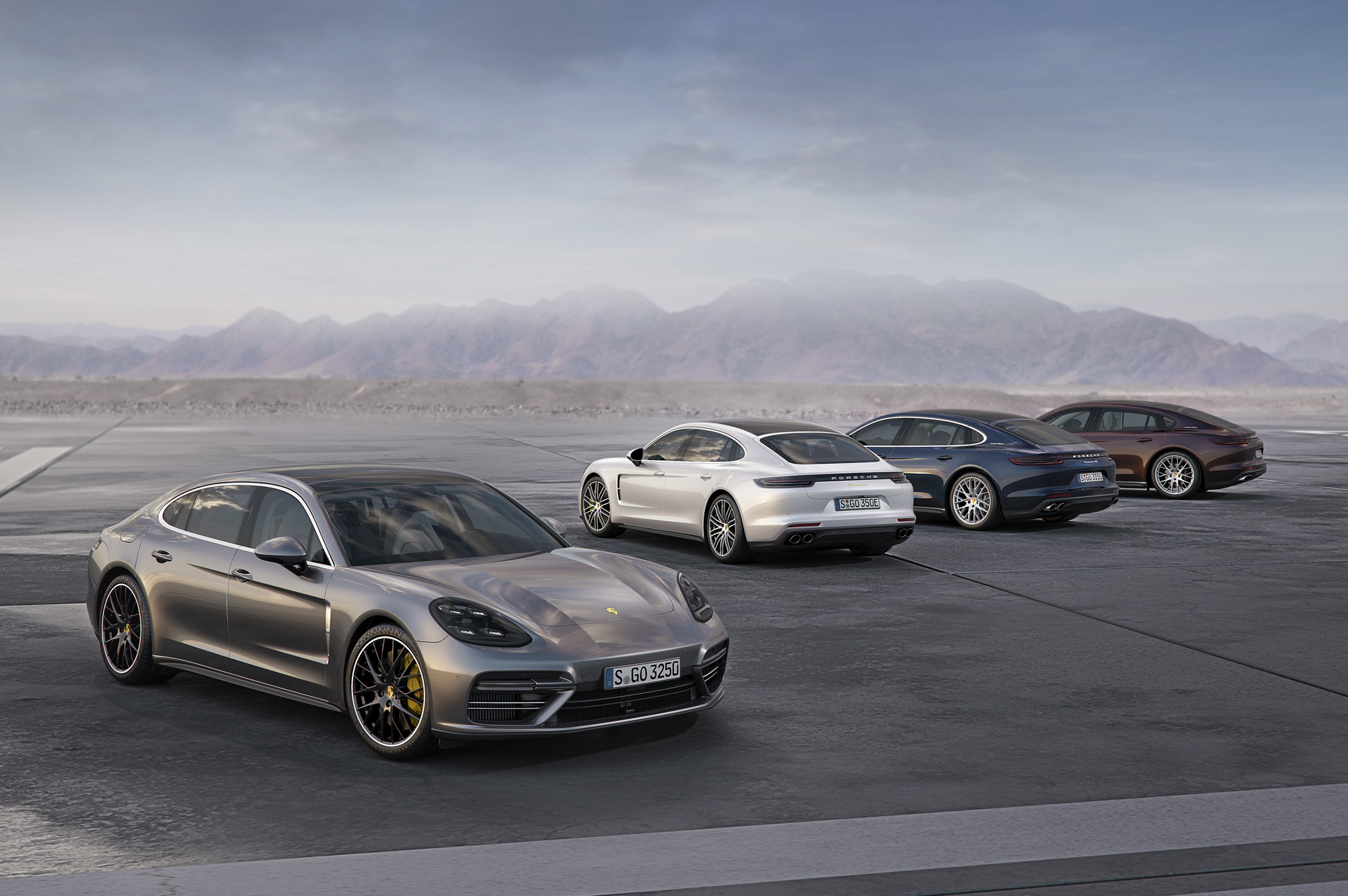 Porsche Panamera Executive Wallpapers