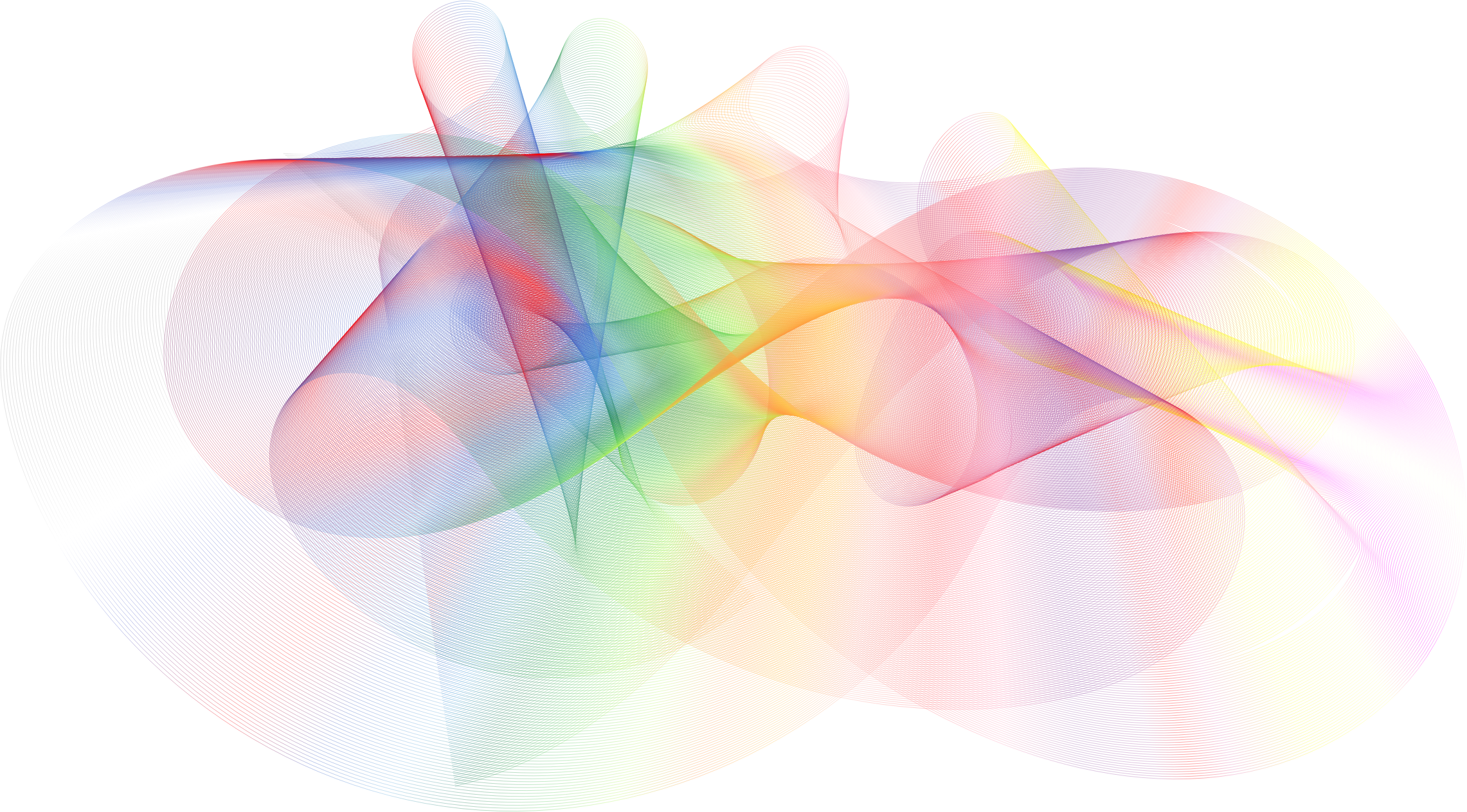 Prismatic Abstract Line Background
