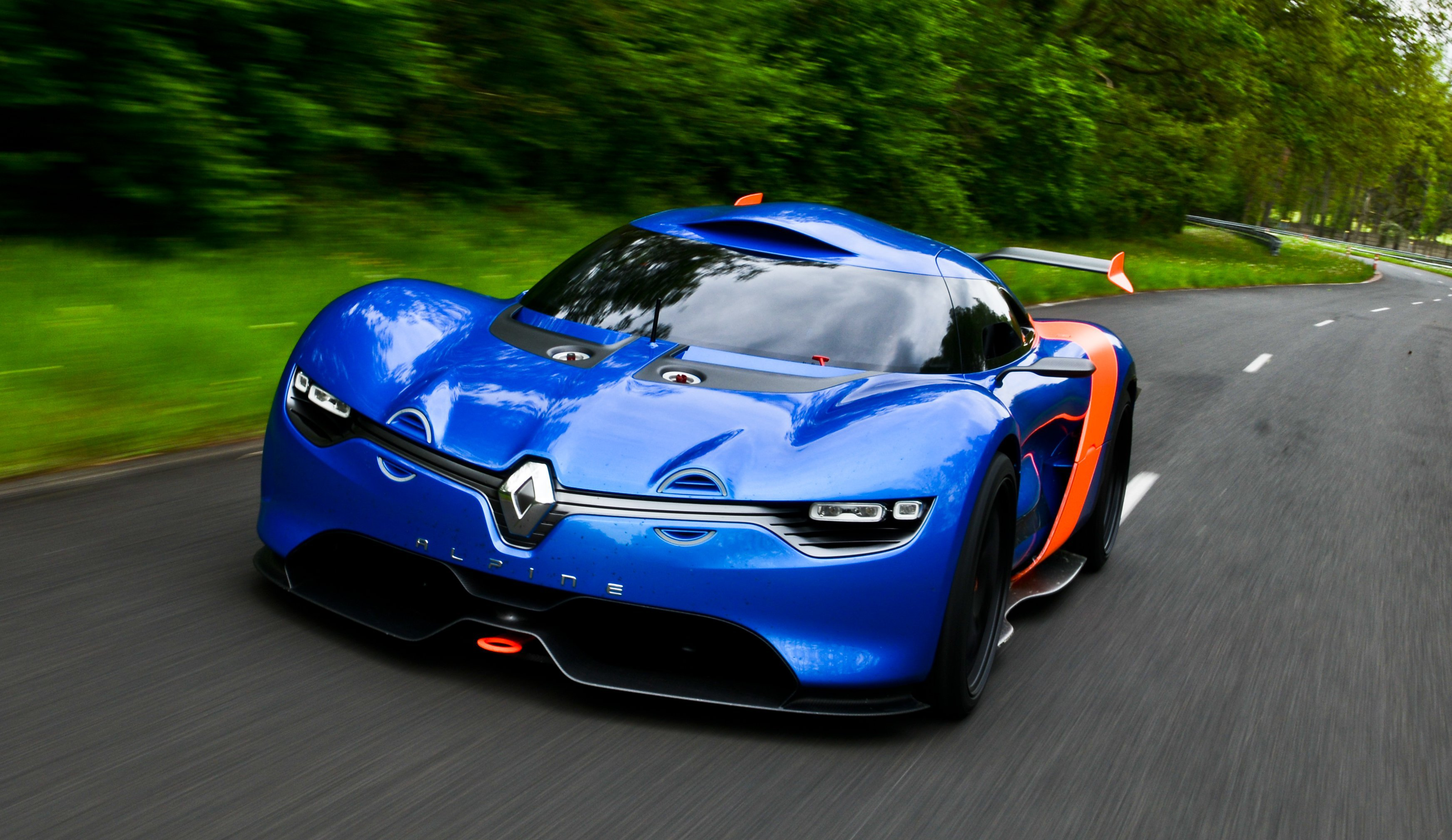 Renault Alpine A110 50 Background
