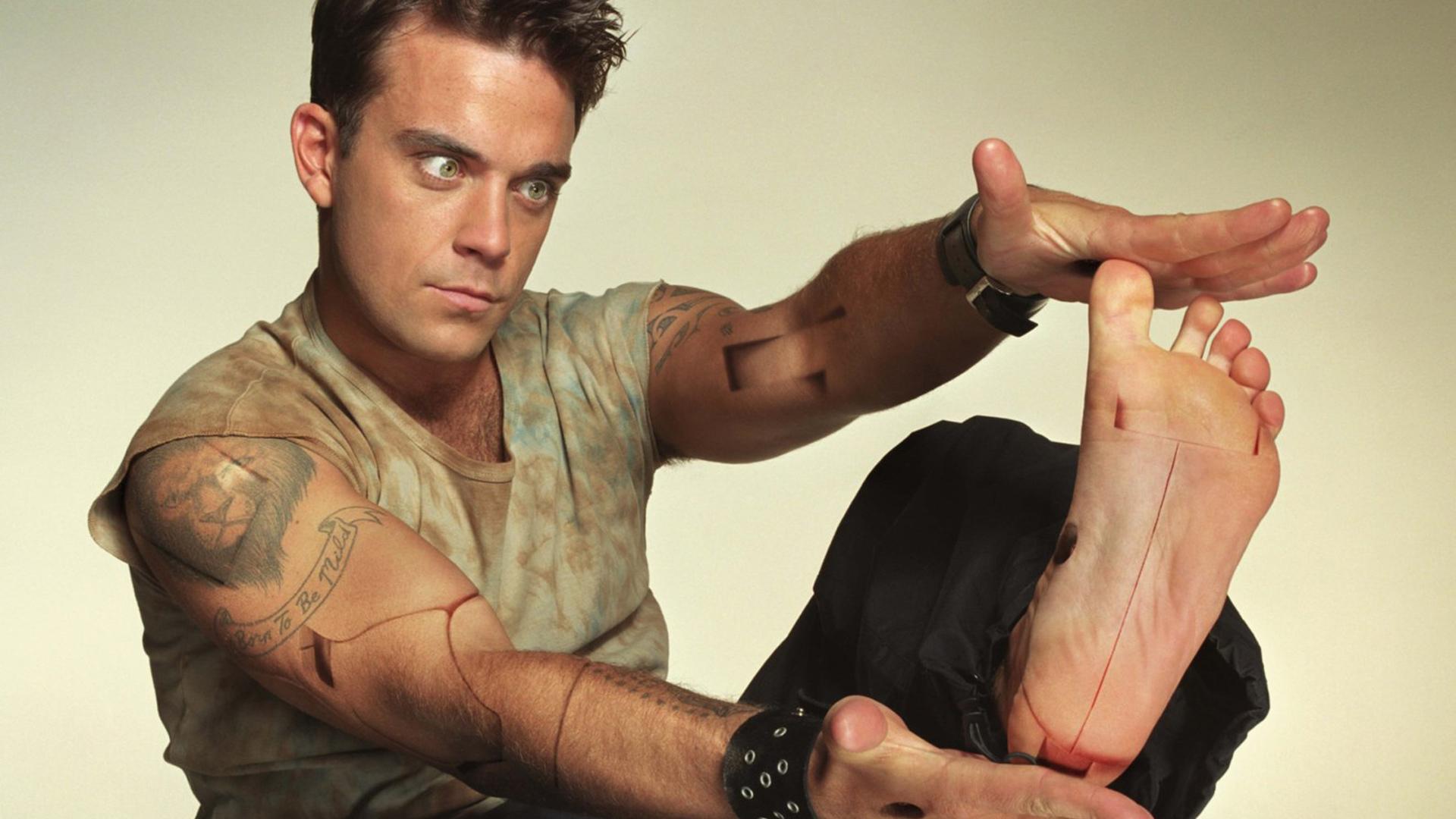 Robbie Williams 4k