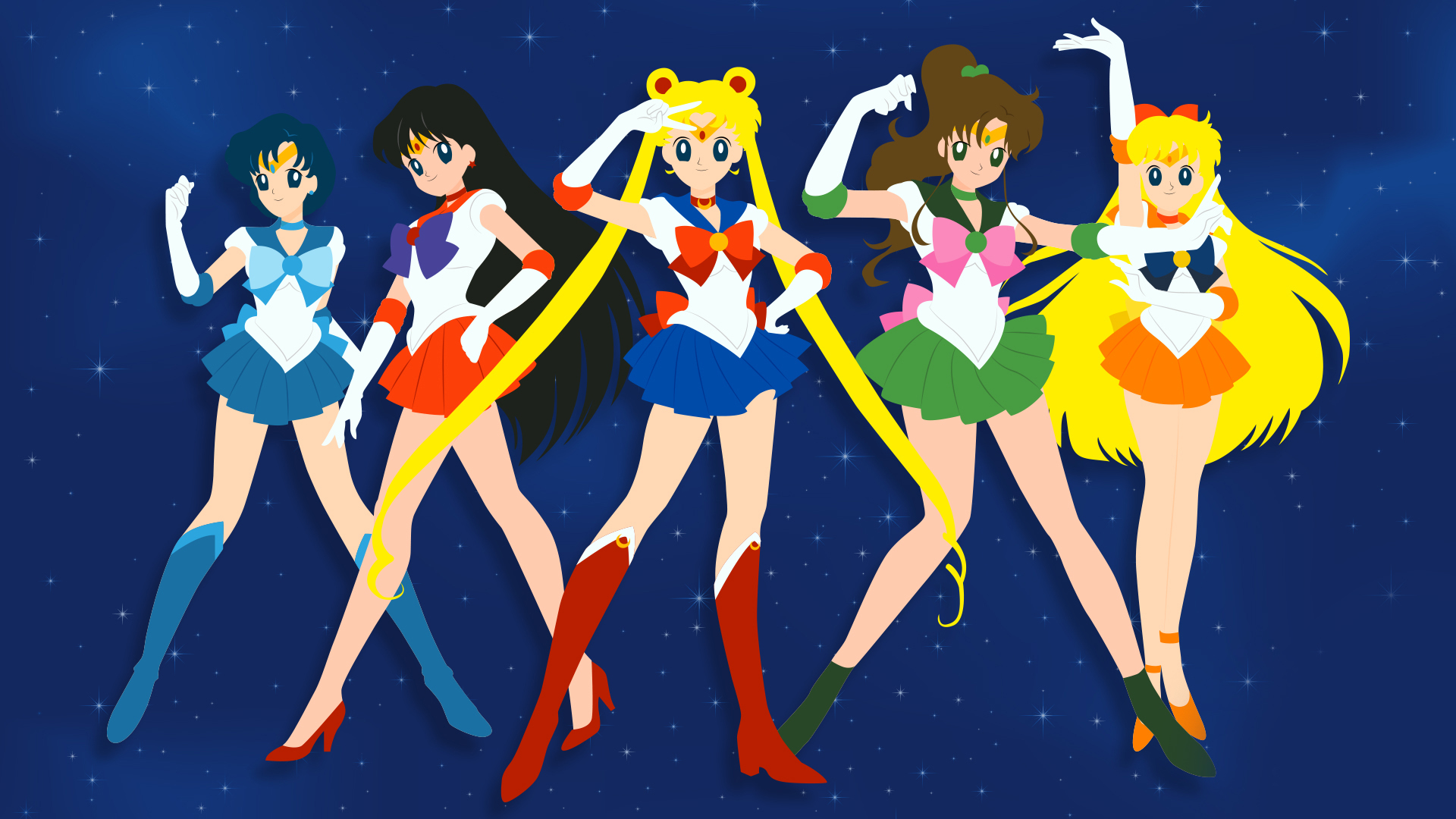Sailor Moon Wallpapers And Backgrounds