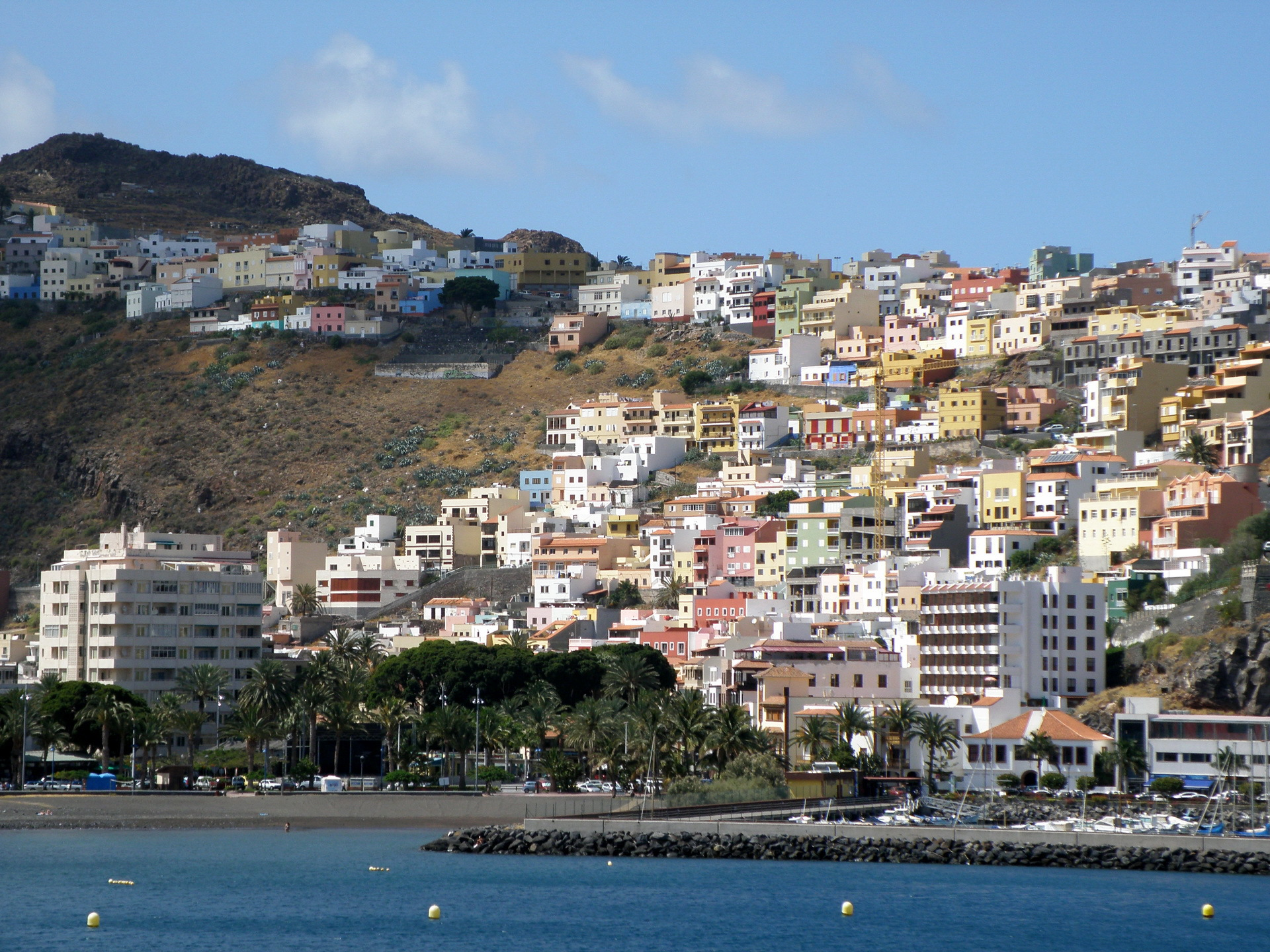 San Sebastian Background