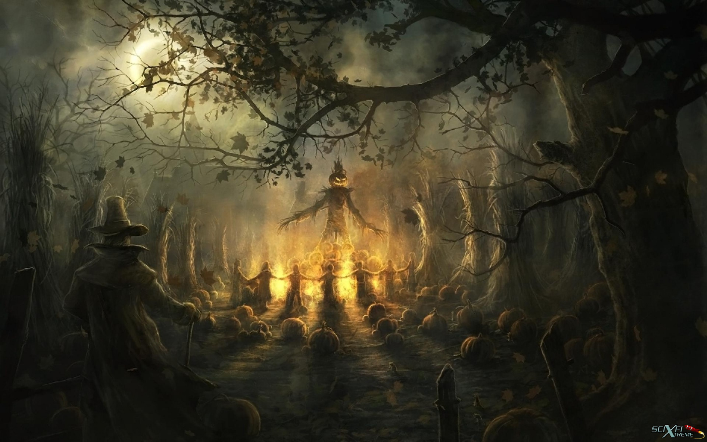 Scary Halloween Hd Wallpaper