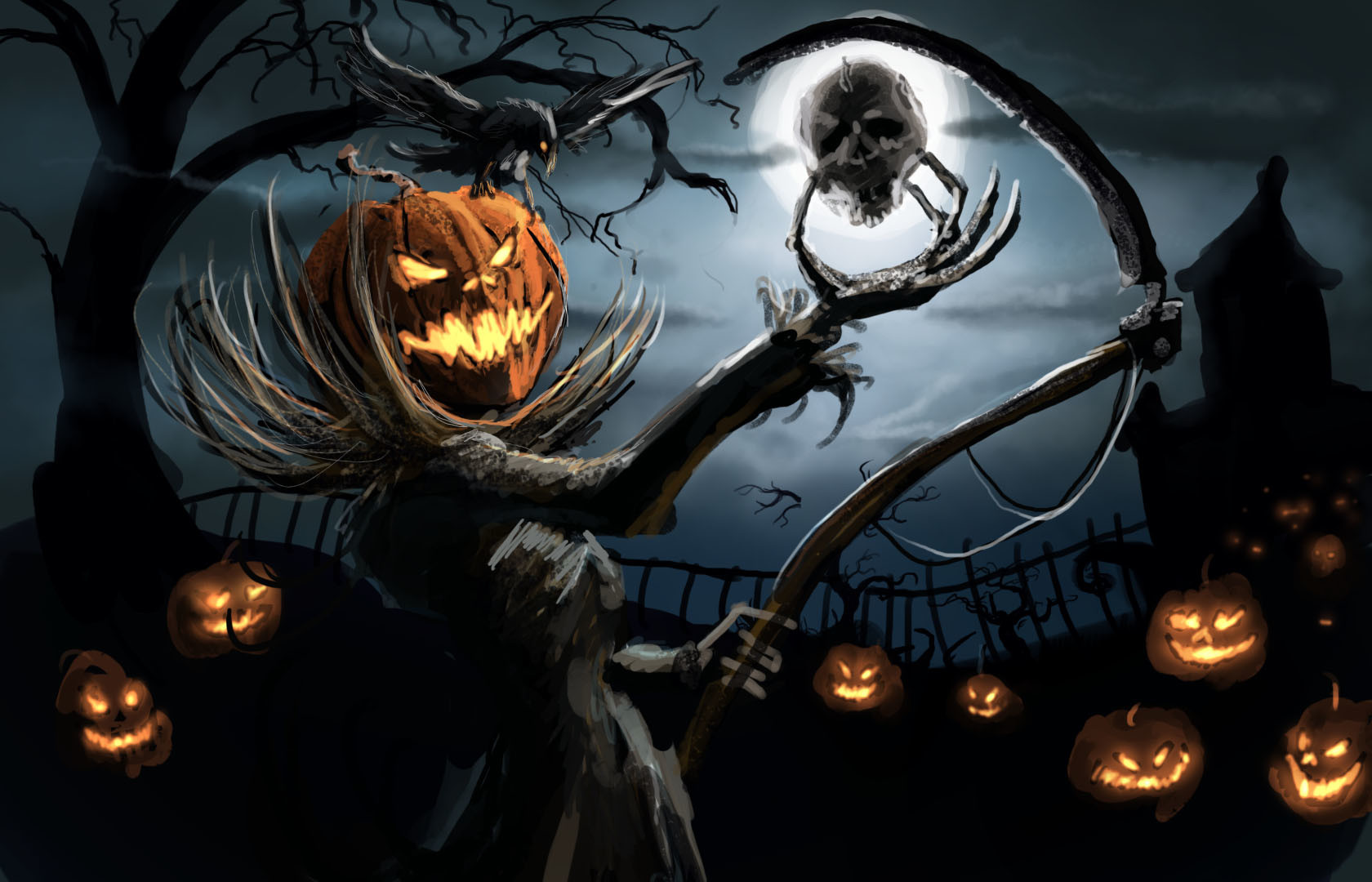 Scary Halloween Widescreen