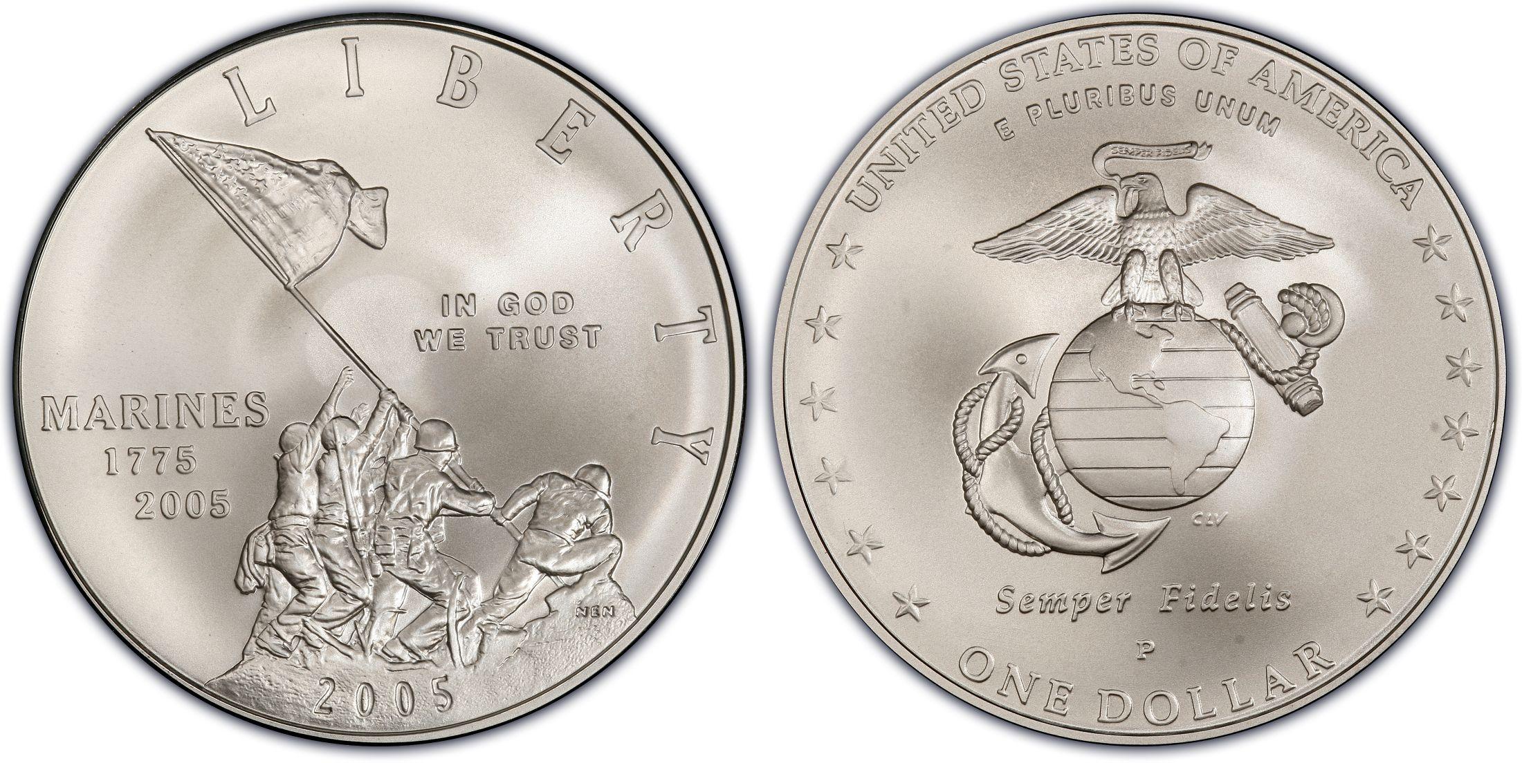 Silver Dollar Wallpaper