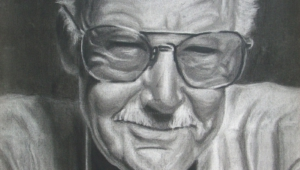 Stan Lee Iphone Background