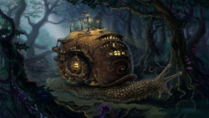 Steampunk Widescreen