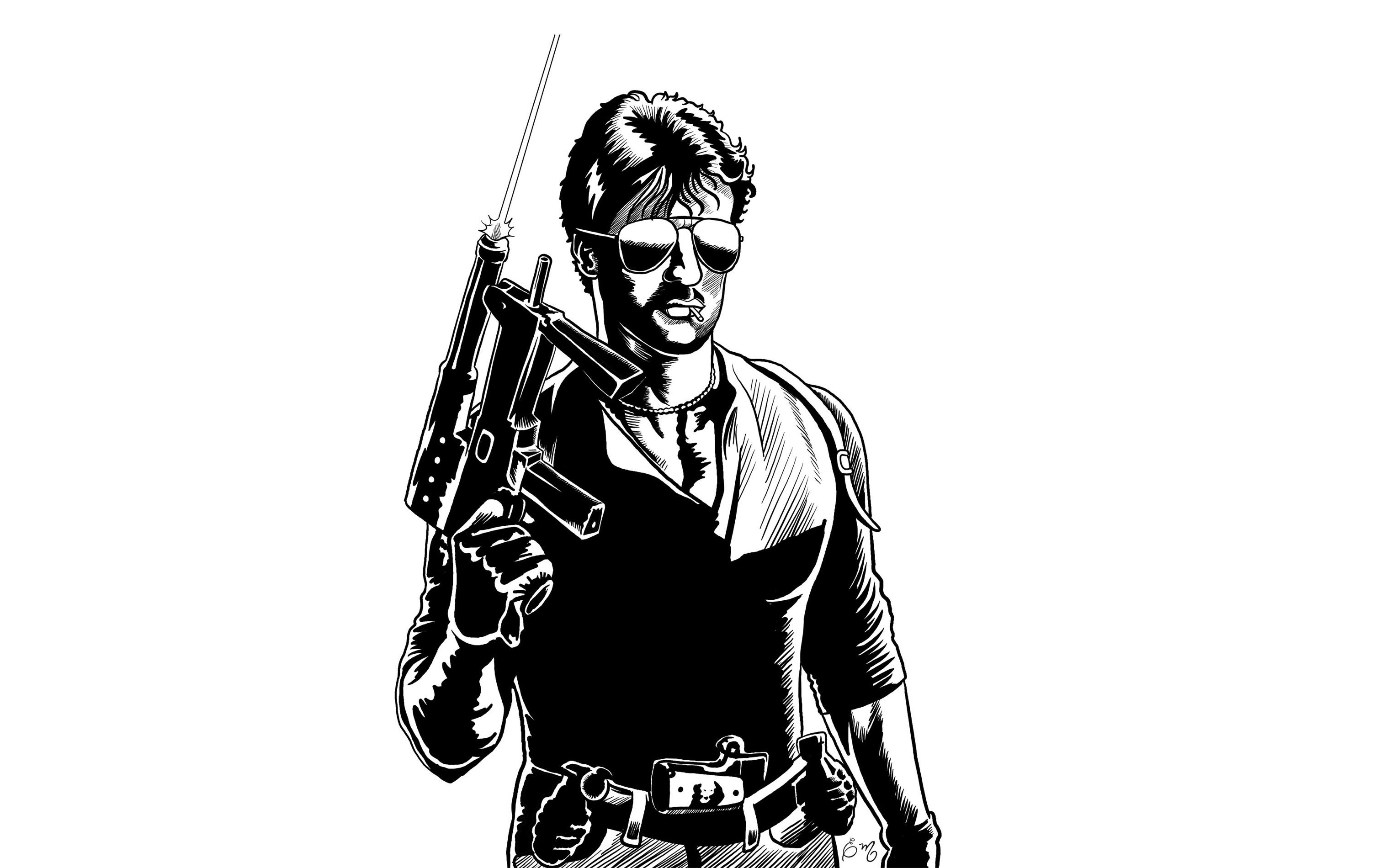 Sylvester Stallone Desktop Wallpaper