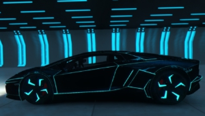 Tron Lamborghini Aventador Wallpapers Hd