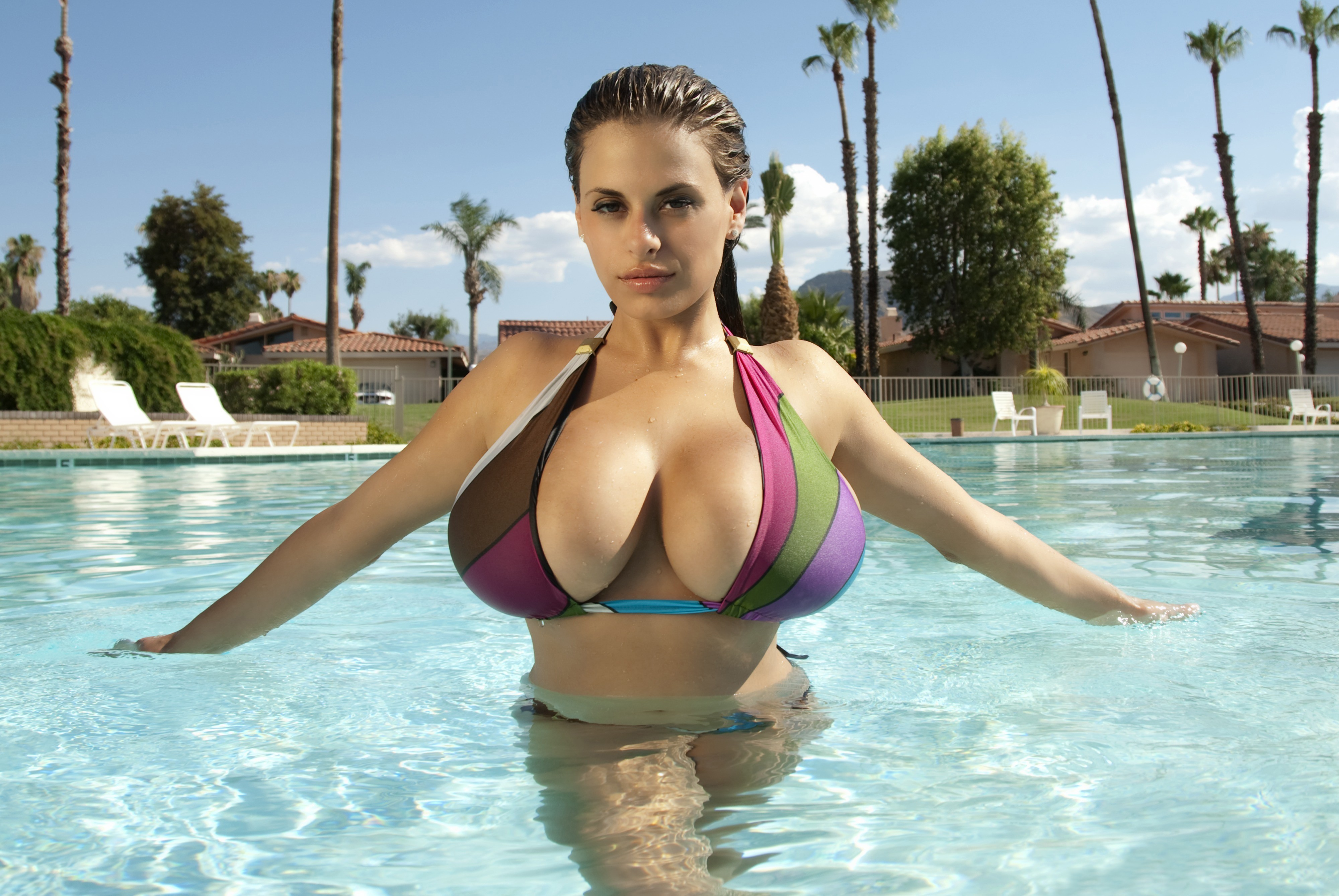 Pool game with lena paul gets xxx rated