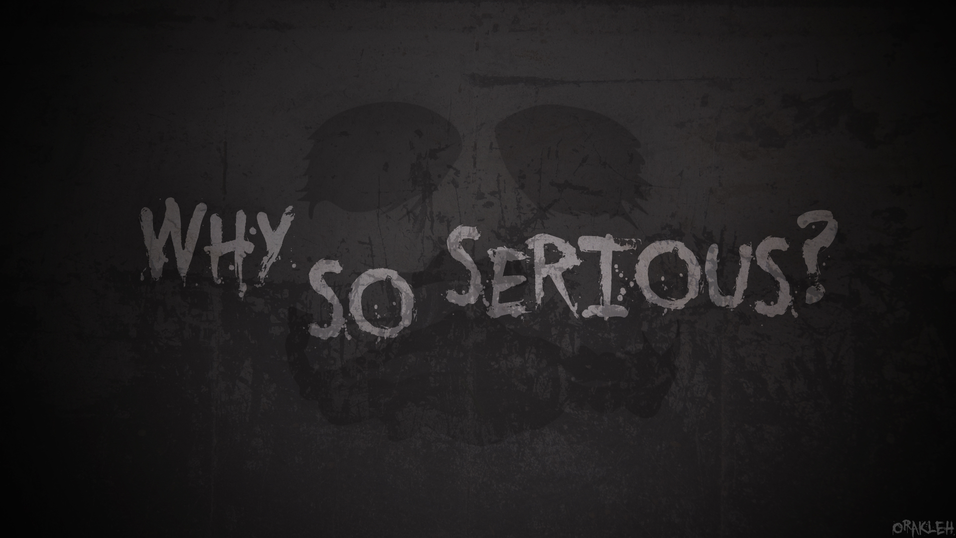 Why So Serious Hd Wallpaper