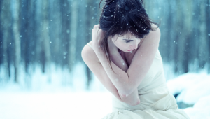 Winter Girl Hd Wallpaper