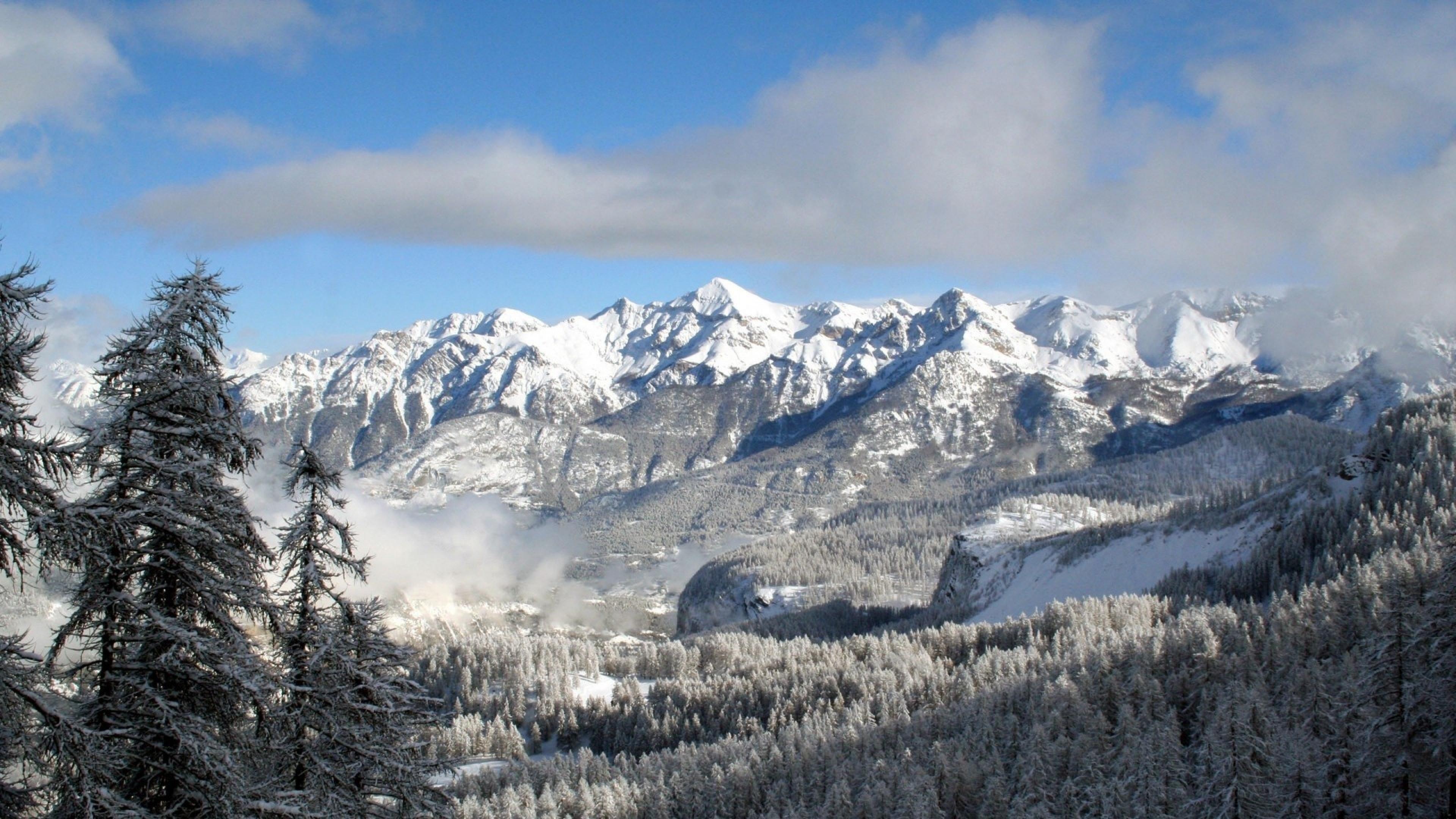 Winter Mountains Desktop