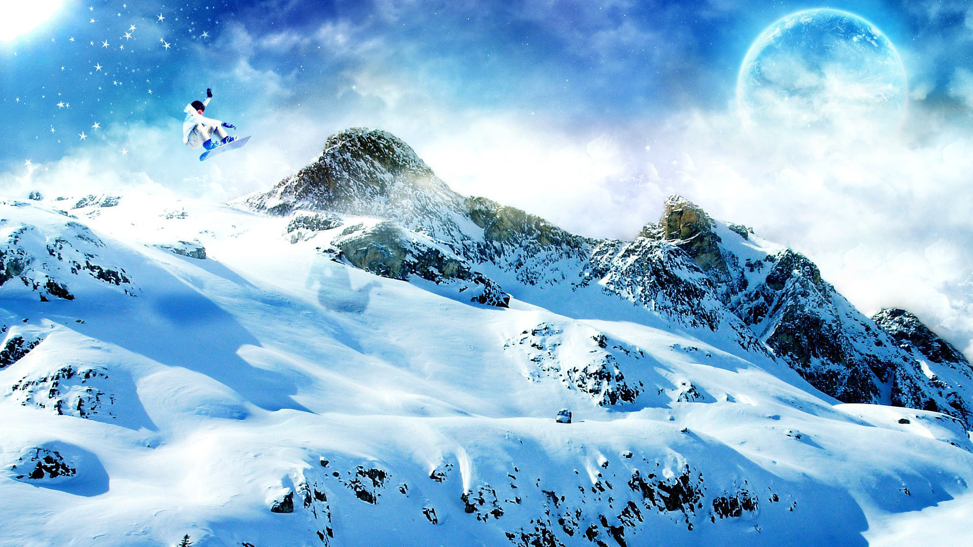 Winter Mountains Wallpapers Images Photos Pictures Backgrounds