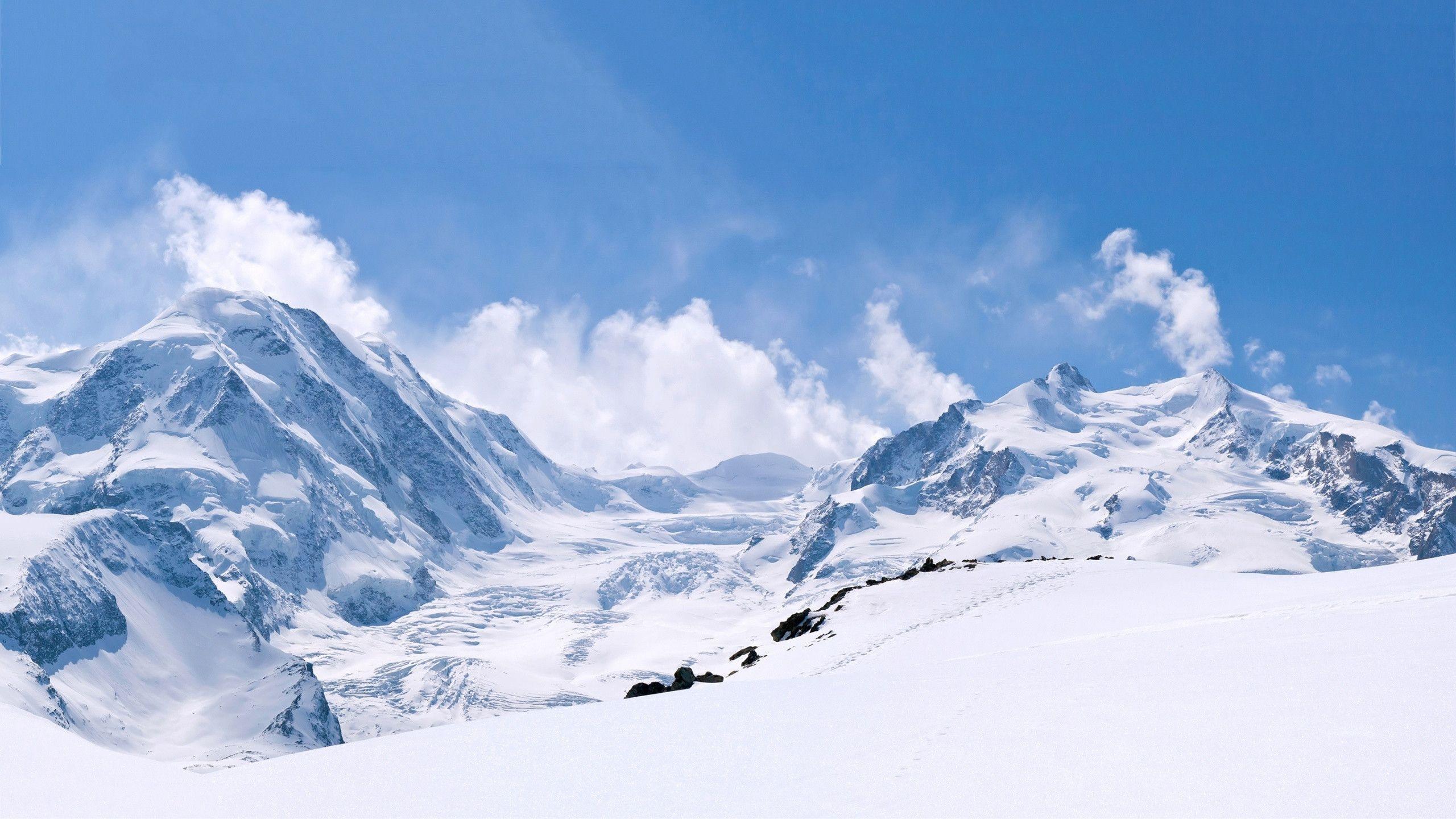 Winter Mountains Hd