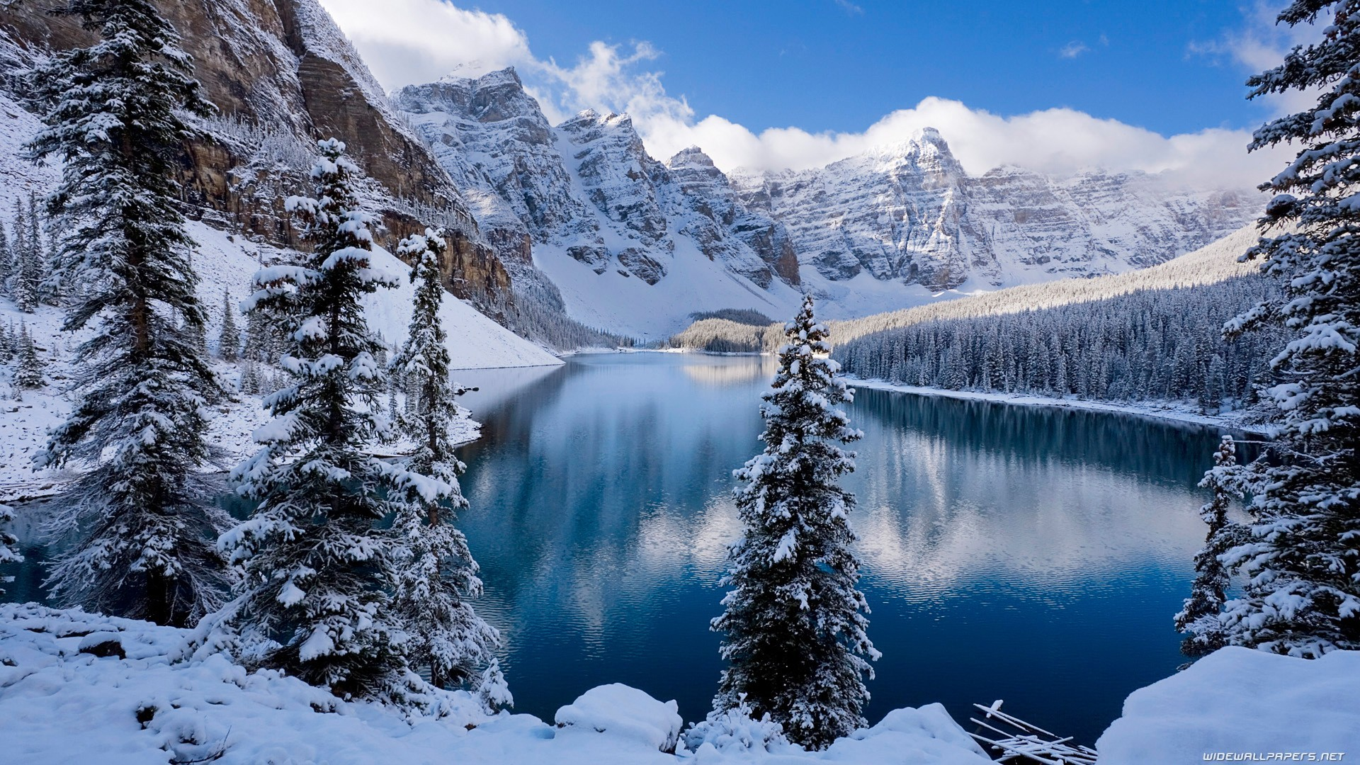 Winter Mountains Full Hd