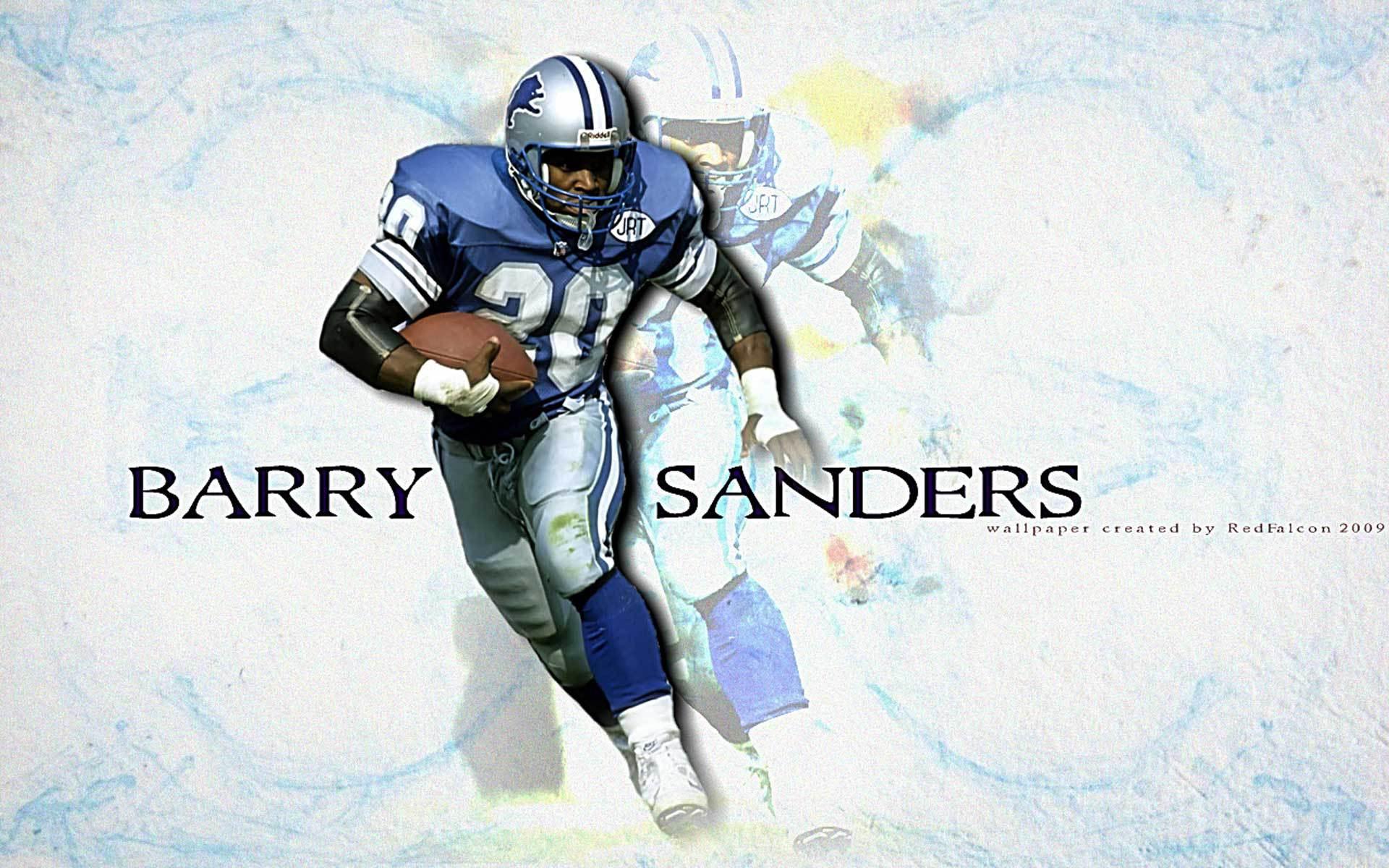Barry Sanders Hd Wallpaper