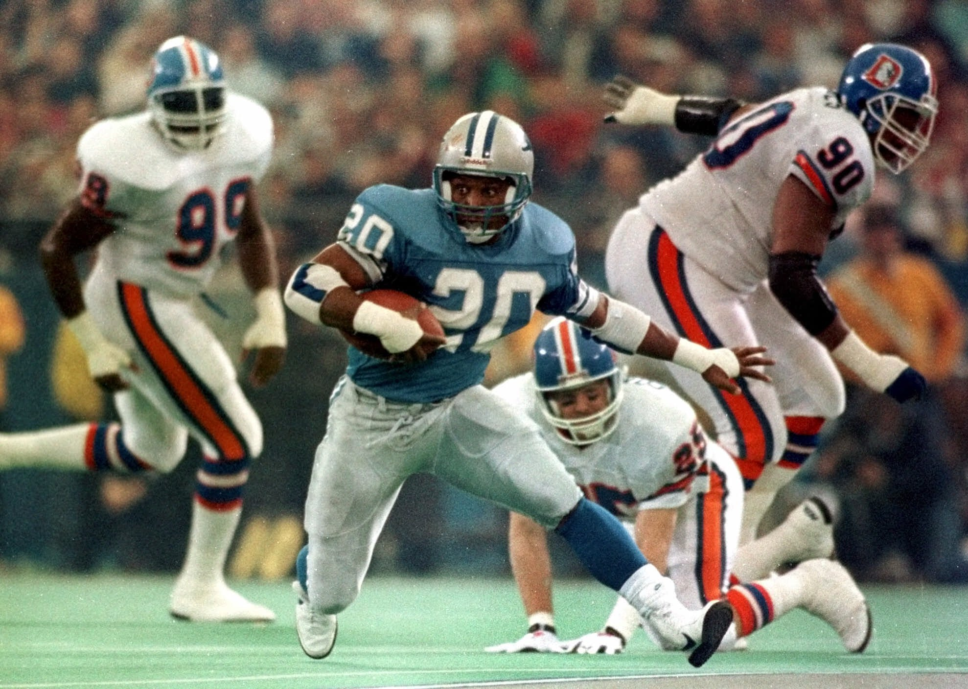 Barry Sanders Pictures