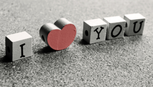 I Love You Cubes Heart