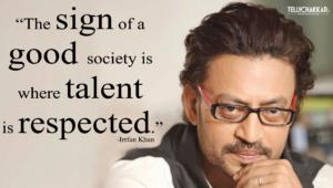 Irrfan Khan Background