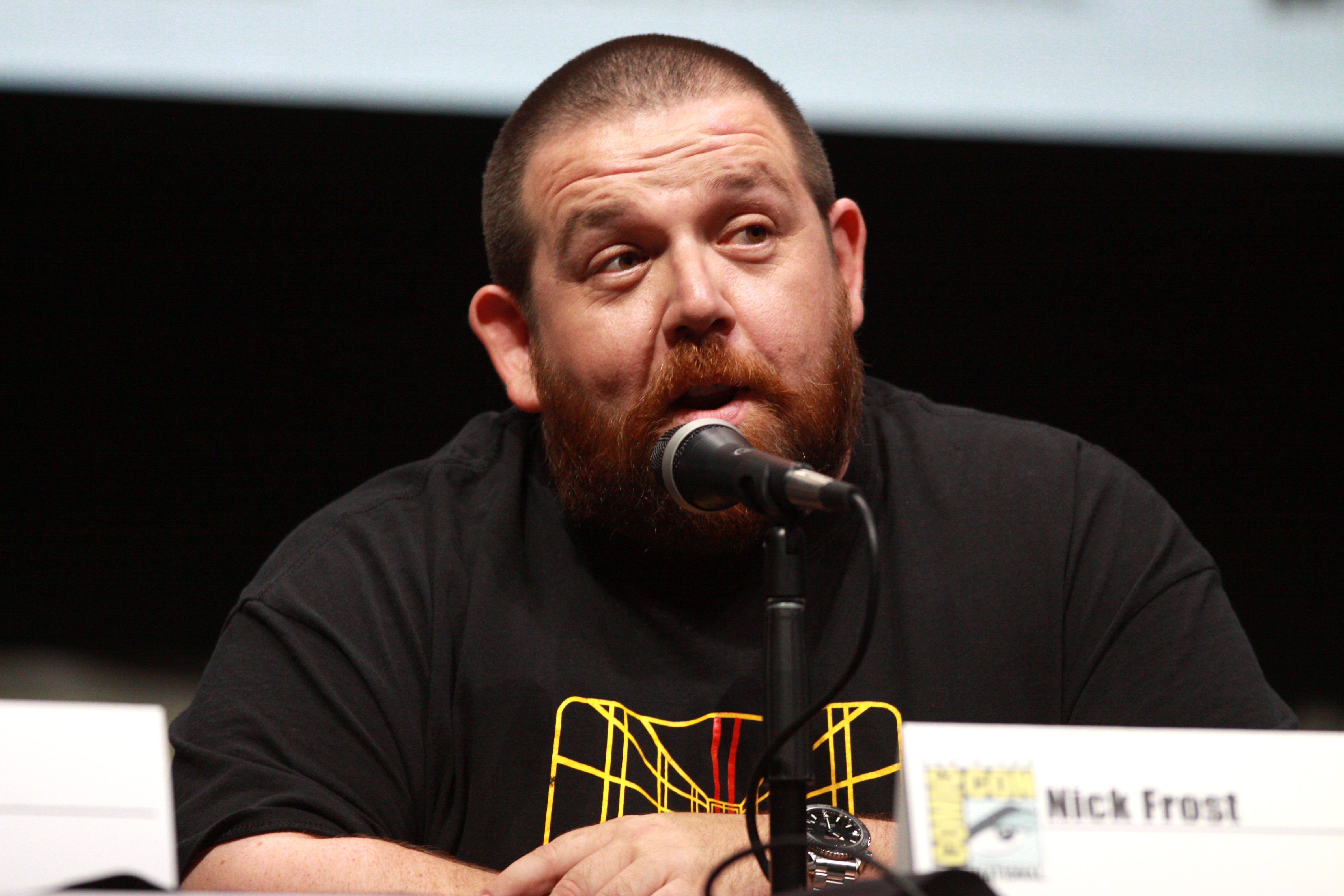 Nick Frost Background