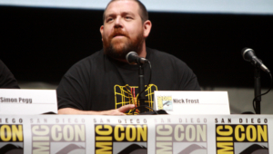 Nick Frost Hd Wallpaper