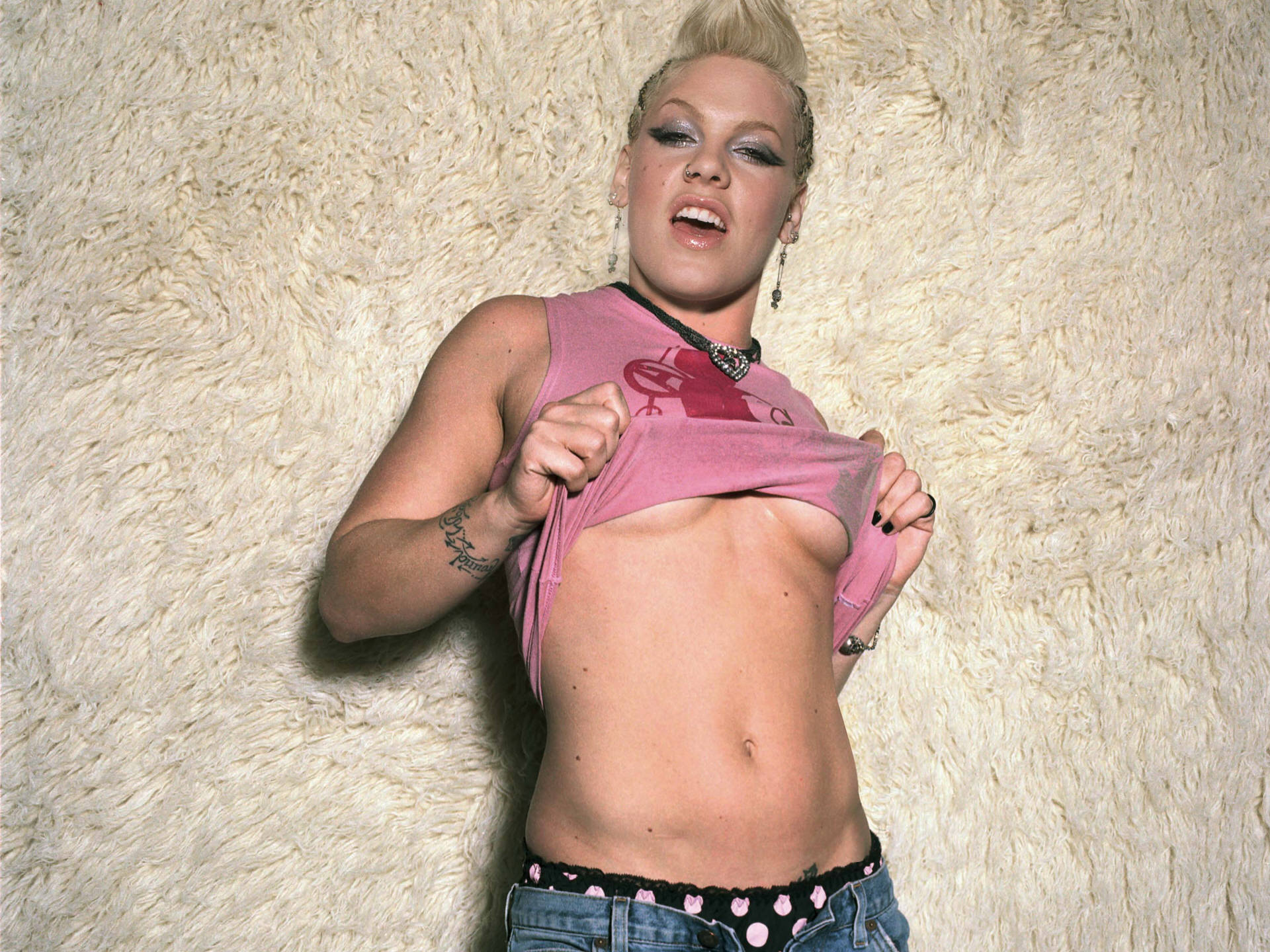 Pink the singer naked having sex