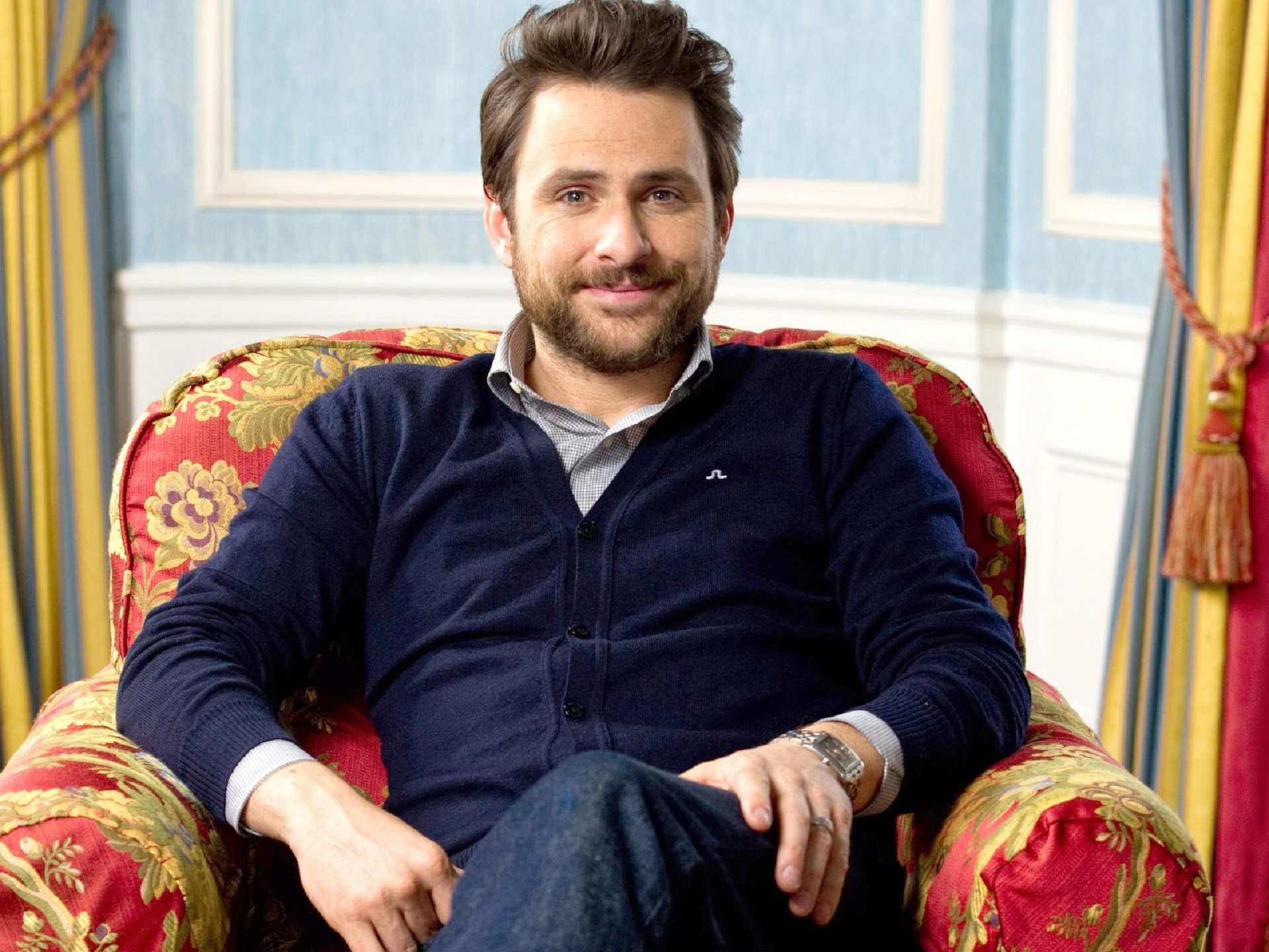 Charlie Day Computer Wallpaper