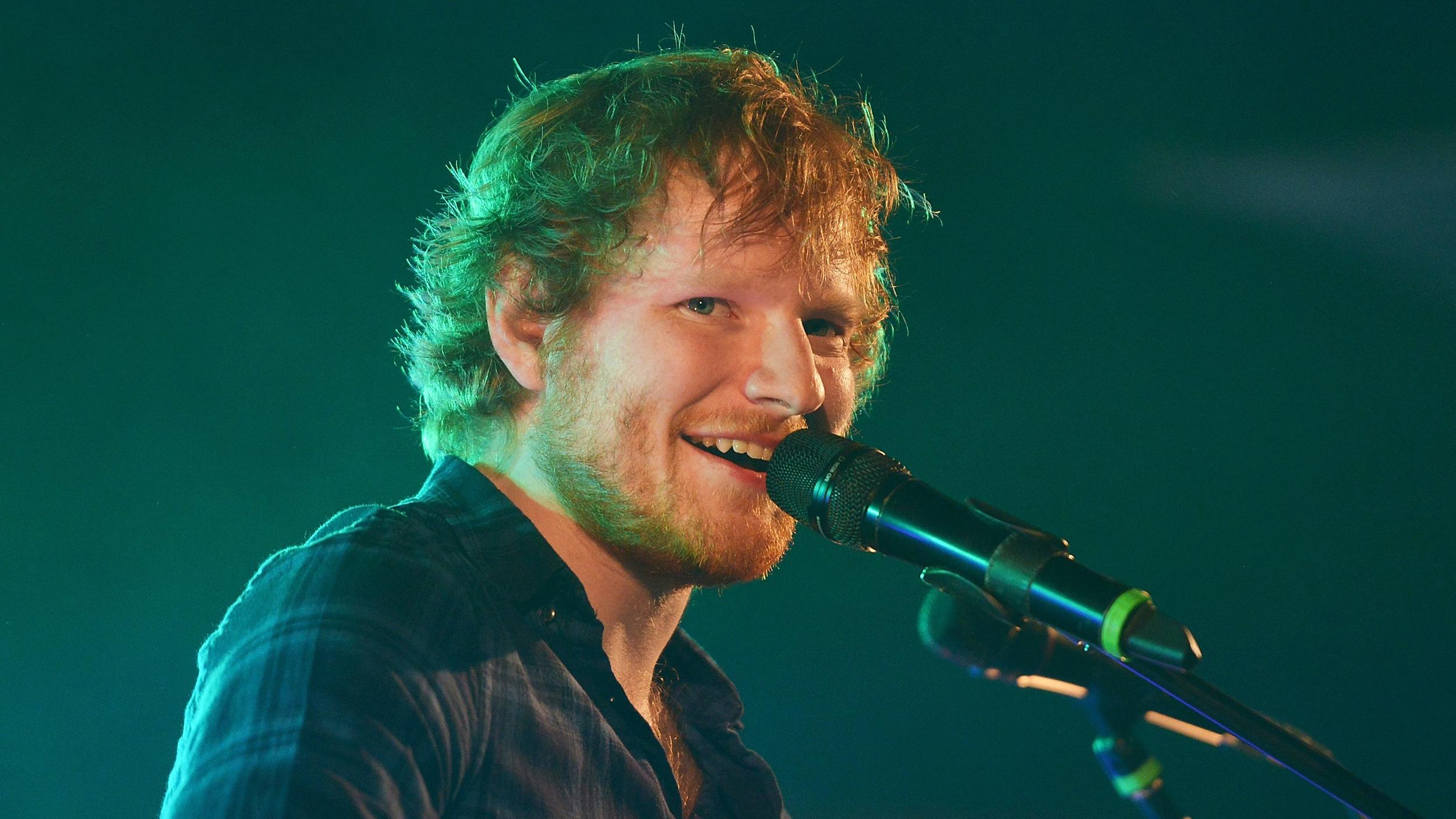 Ed Sheeran Computer Wallpaper