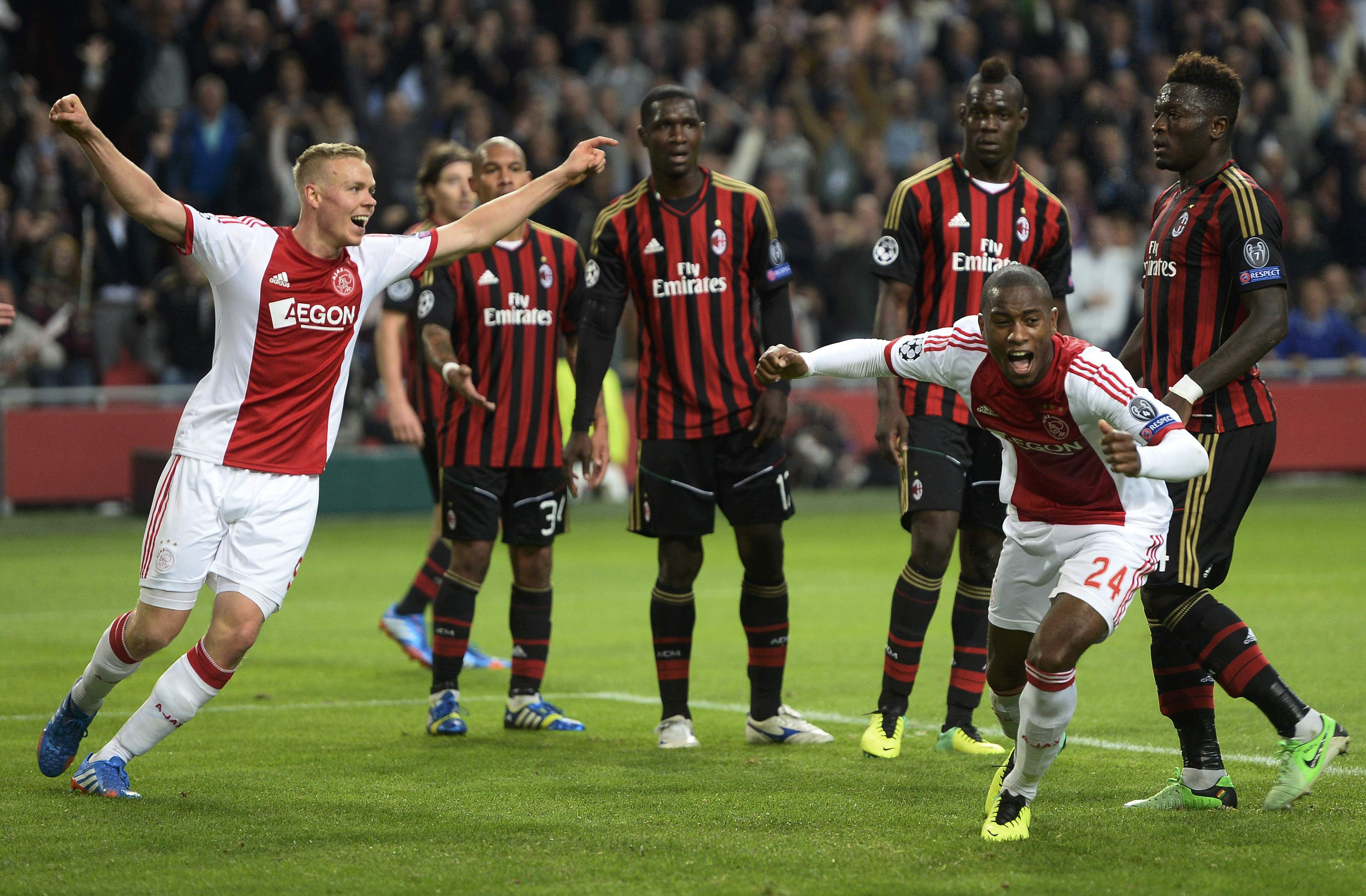 Ajax vs Juventus, Champions League quarter-final, first ...