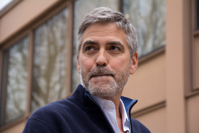 George Clooney Desktop Wallpaper