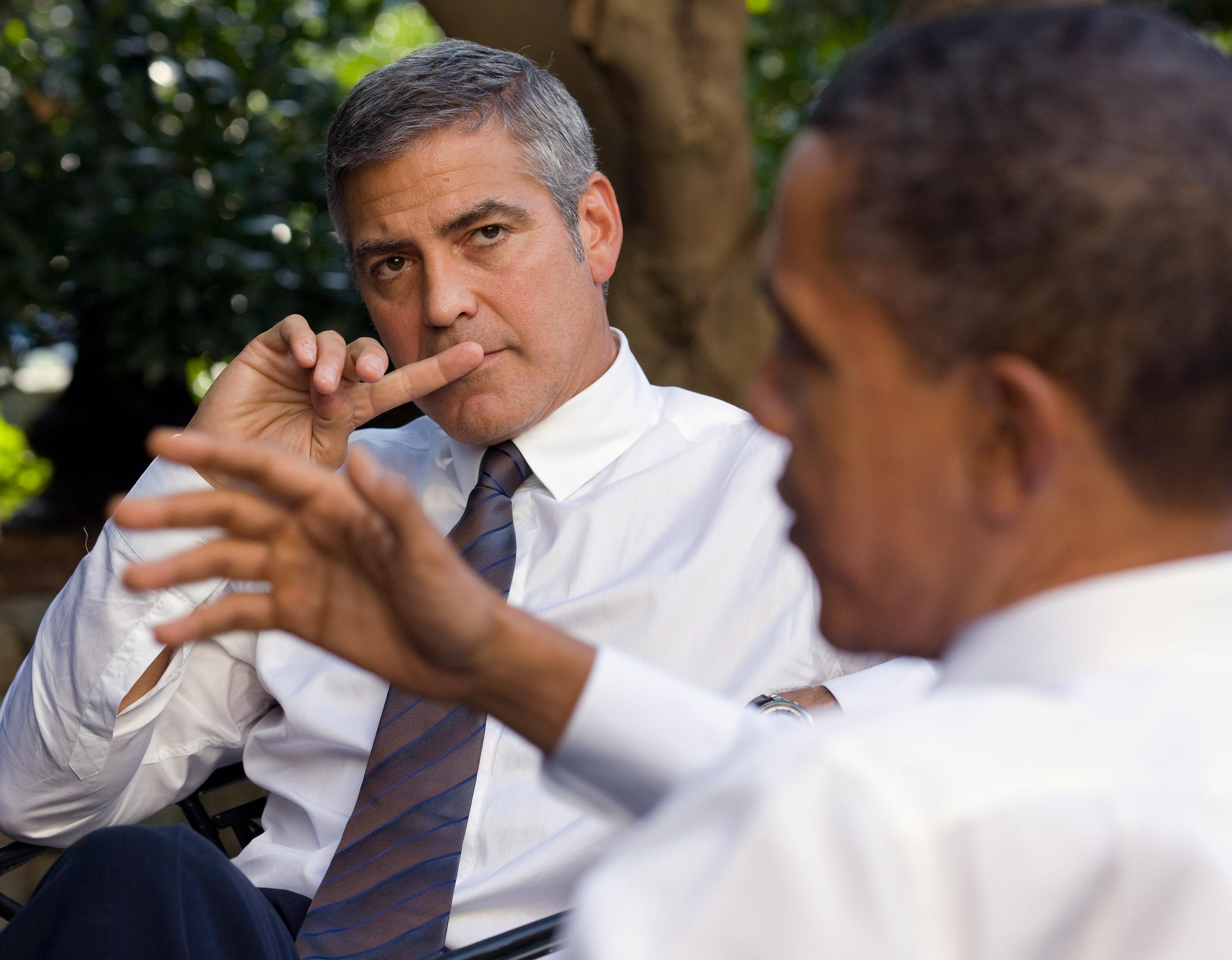 George Clooney For Desktop Background